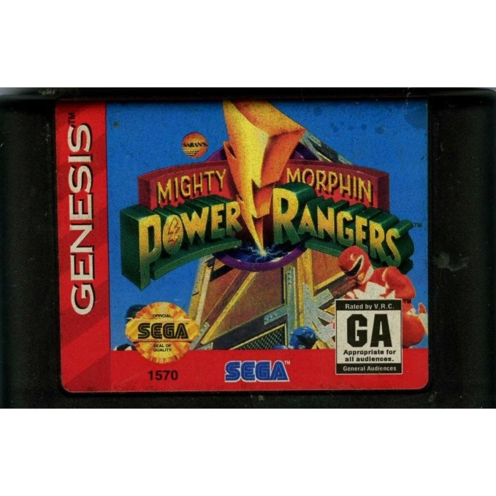 sgu-Mighty Morphin Power Rangers (cartridge)