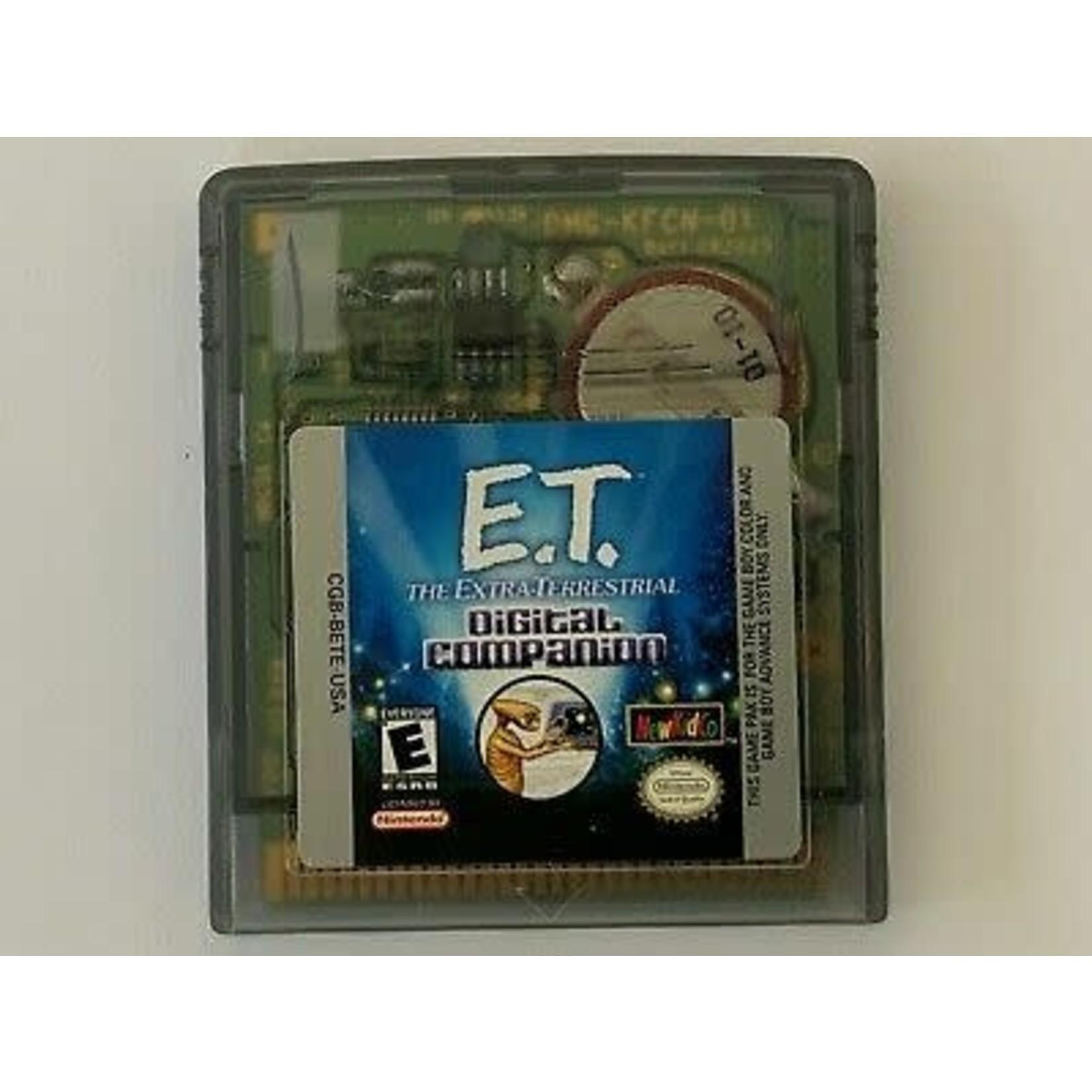 GBCU-ET The Extra Terrestrial: Digital Companion (CARTRIDGE)