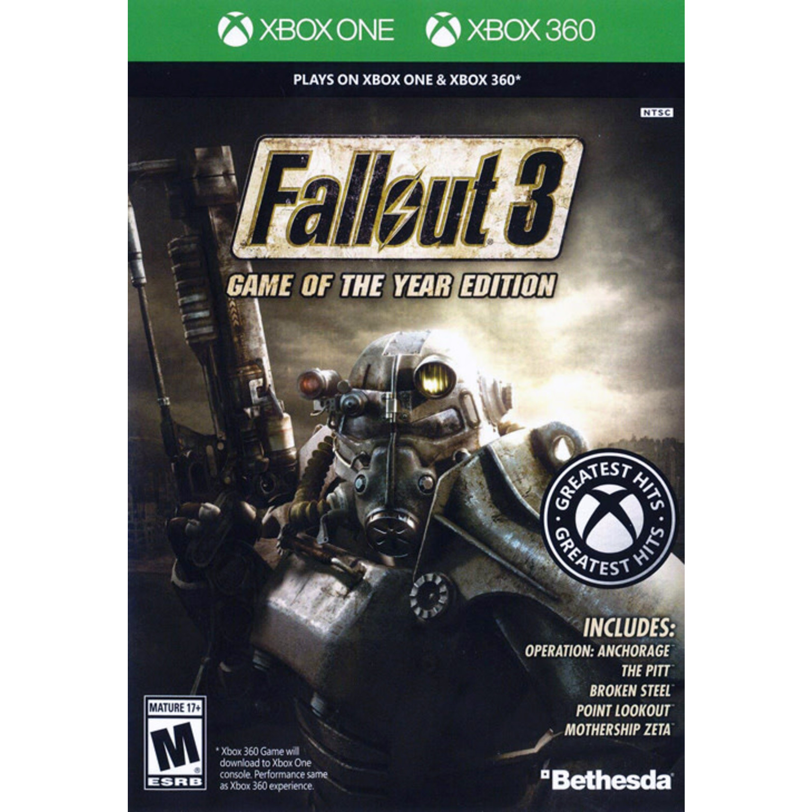 X3U-Fallout 3 Game of the Year Edition