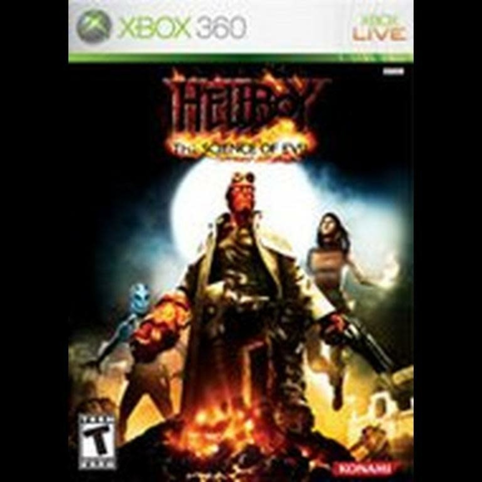 X3-Hellboy: The Science of Evil