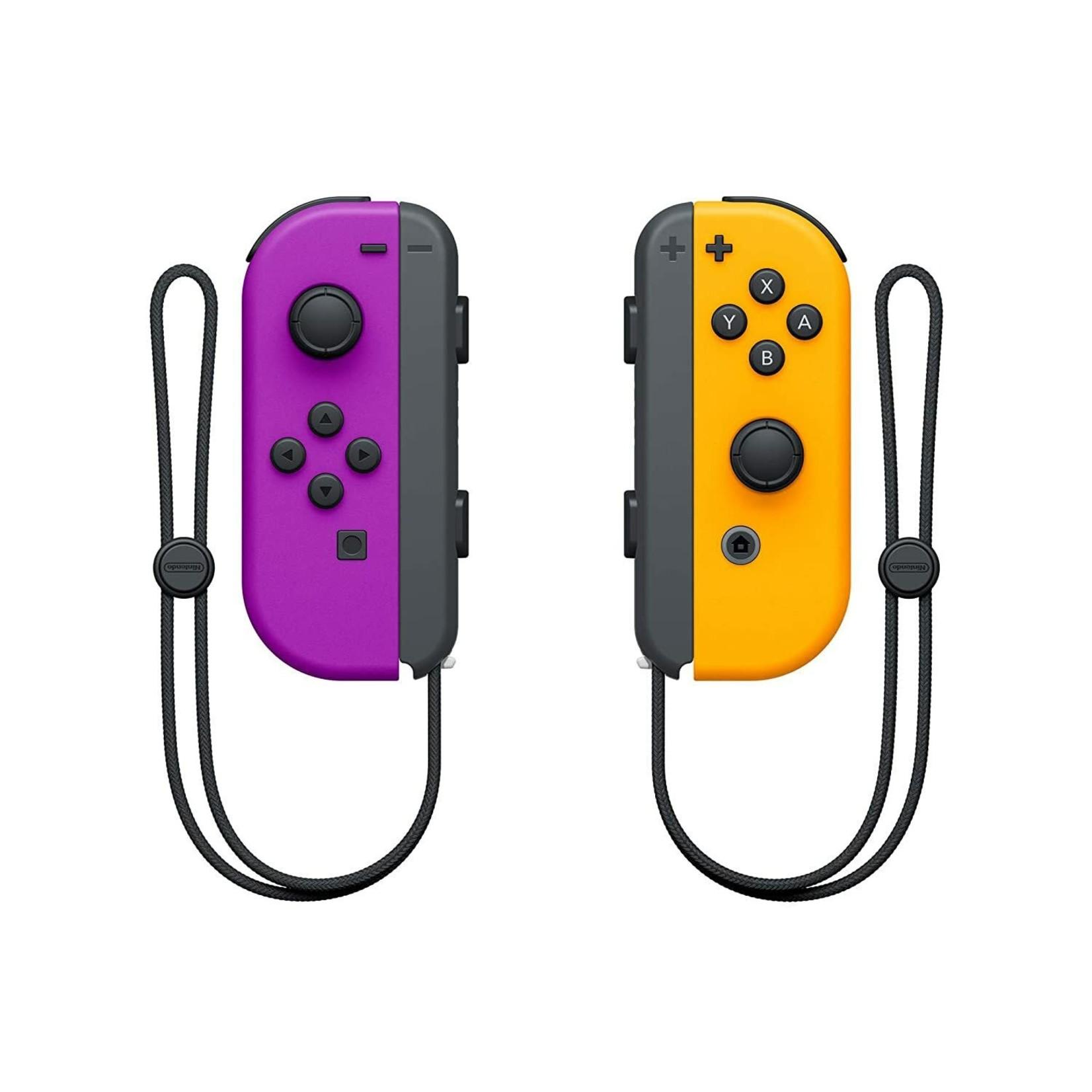 Nintendo Switch Joy-Con (L)/(R) Neon Purple/Orange