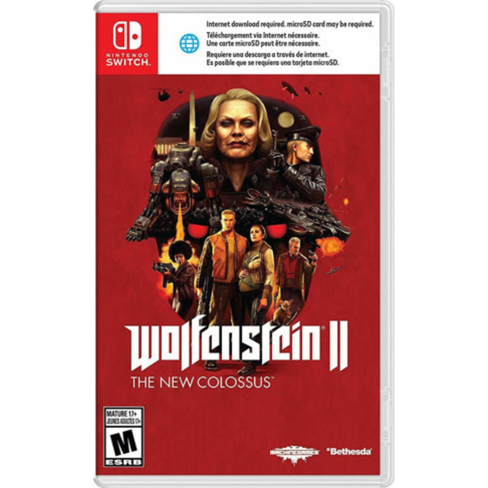 SWITCH-Wolfenstein II: The New Colossus
