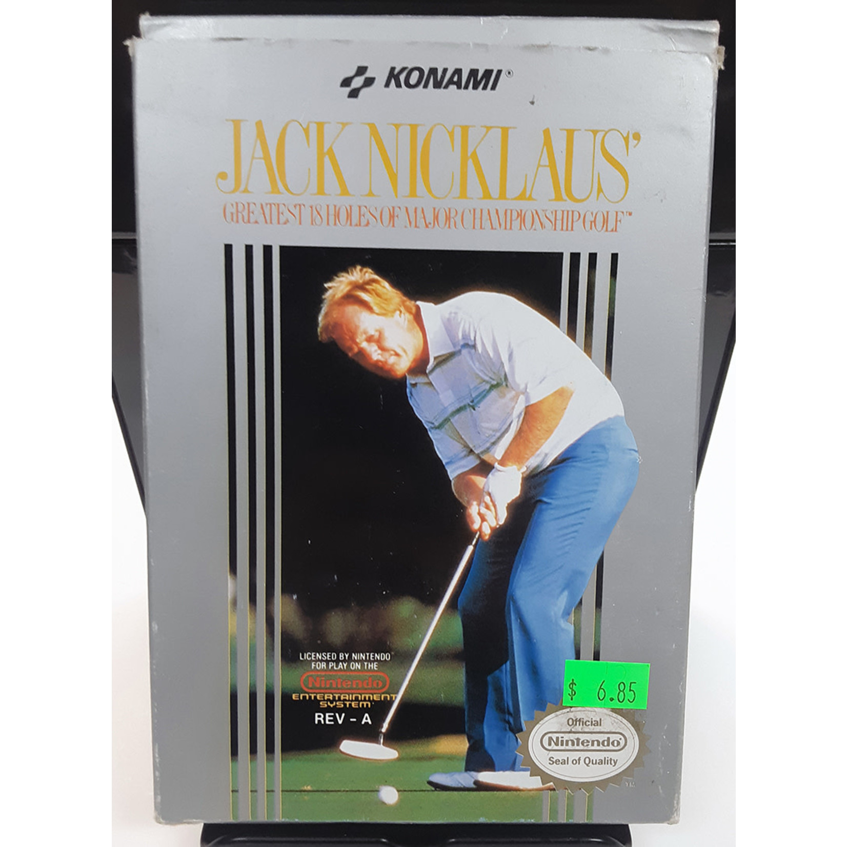 NESU-JACK NICKLAUS GOLF (cartridge)