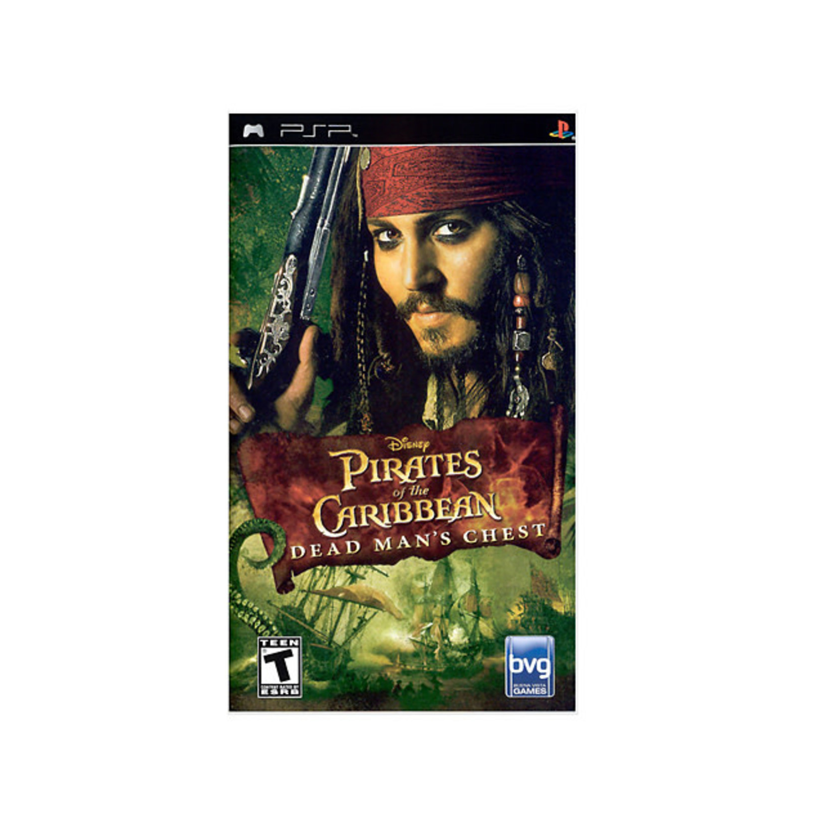 PSPU-Pirates Of The Caribbean Dead Man's Chest