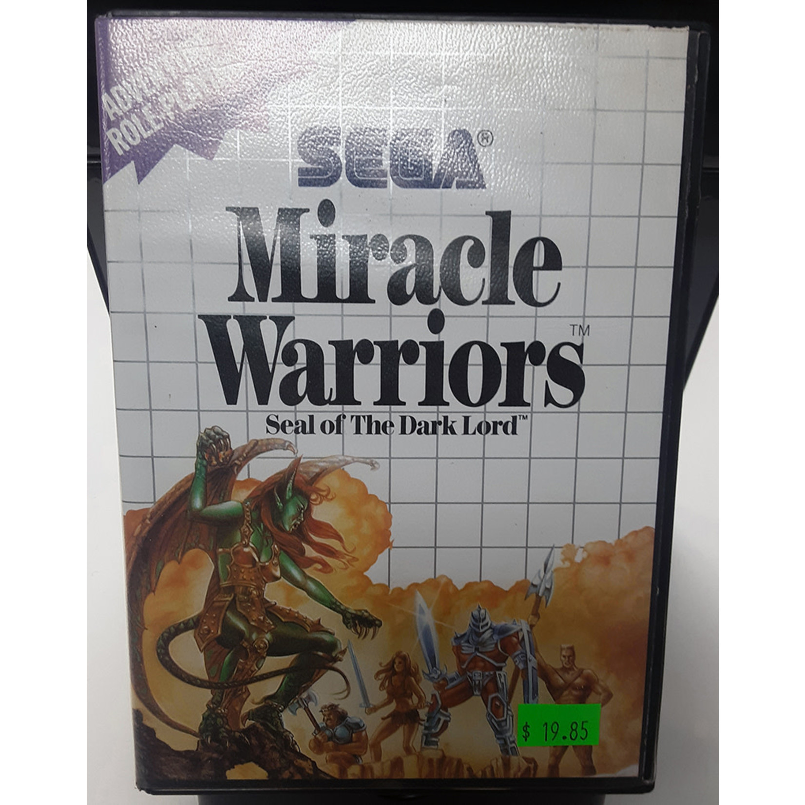 SMU-Miracle Warriors: Seal of the Dark Lord (in box)