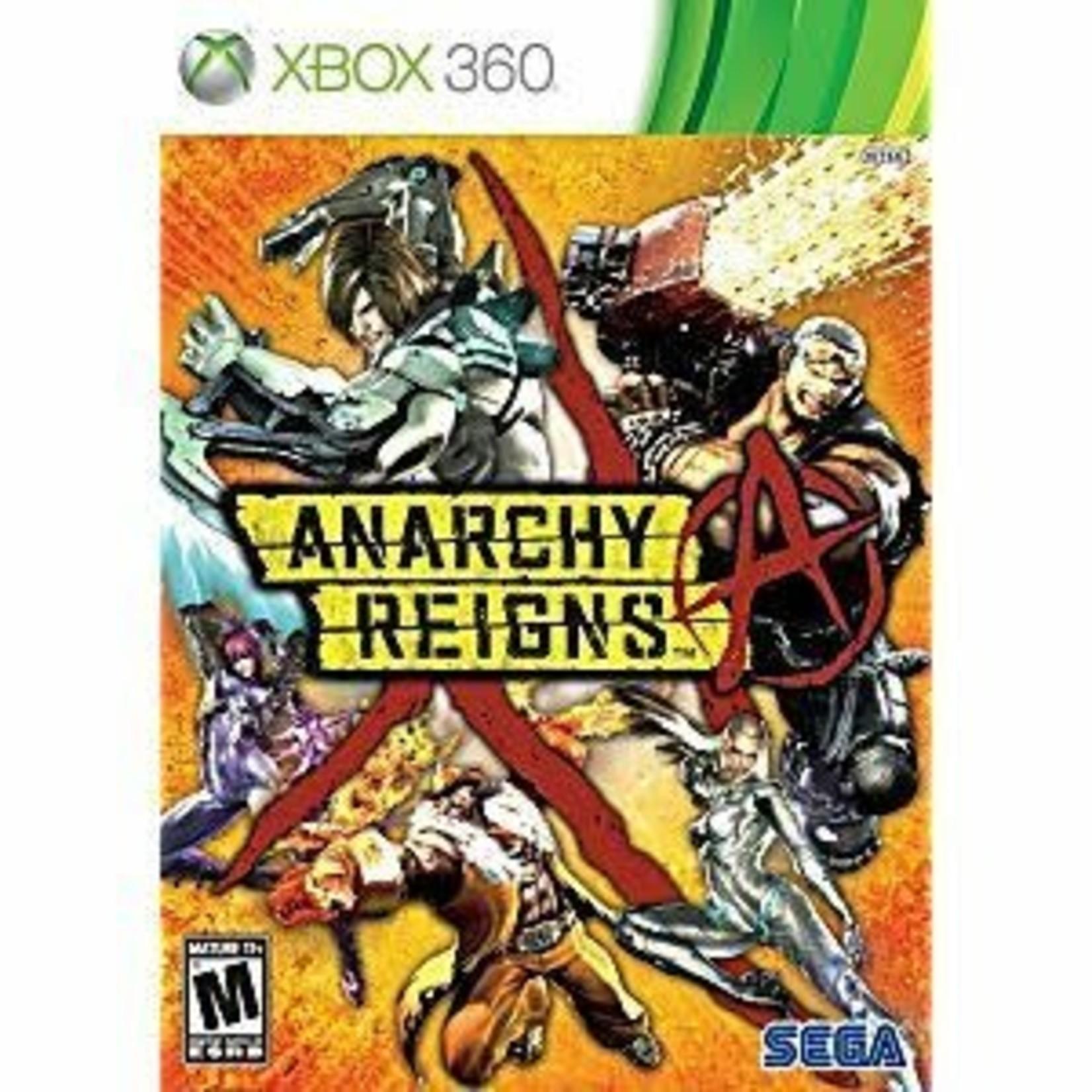 X3-Anarchy Reigns