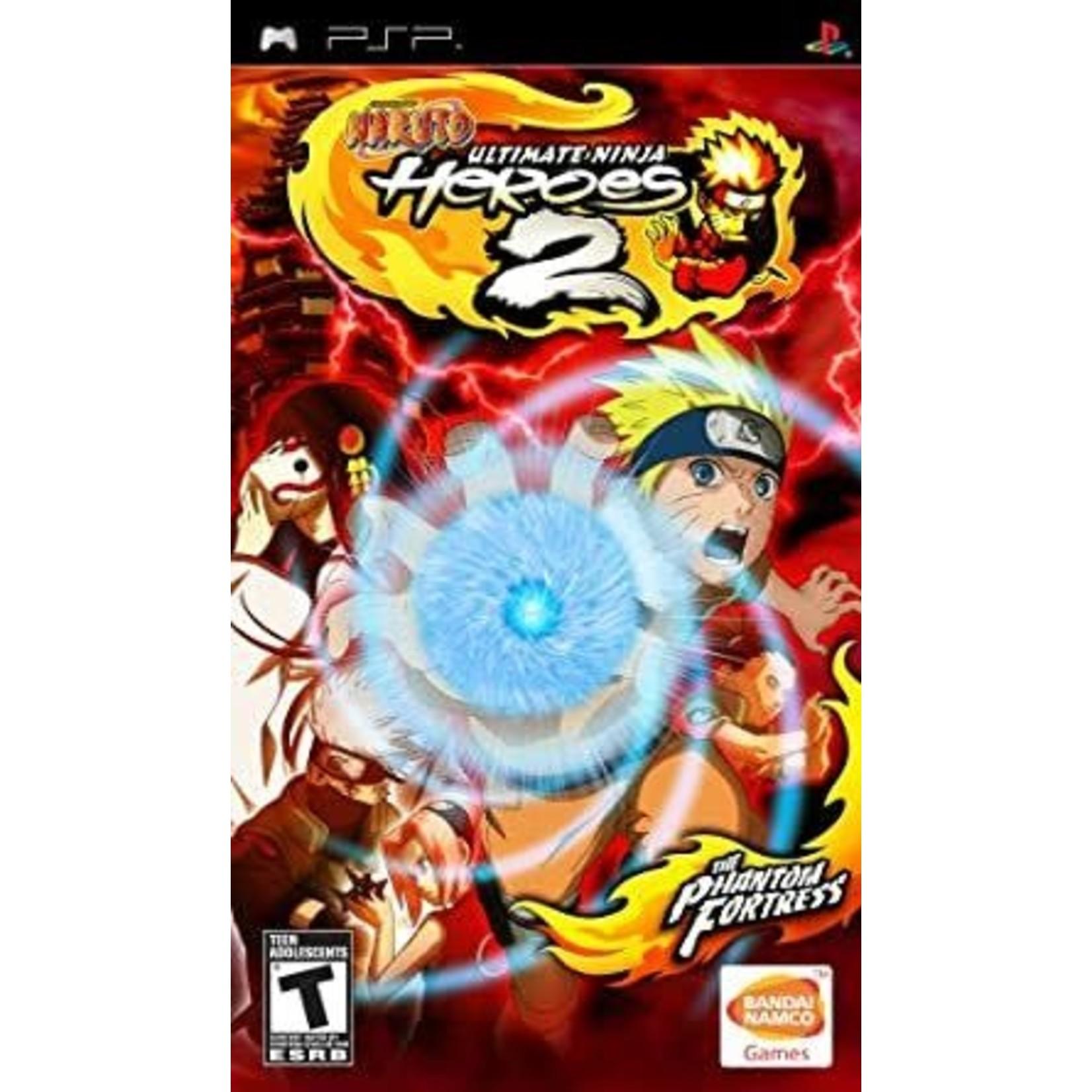 PSPU-Naruto Ultimate Ninja Heroes 2 The Phantom Fortress