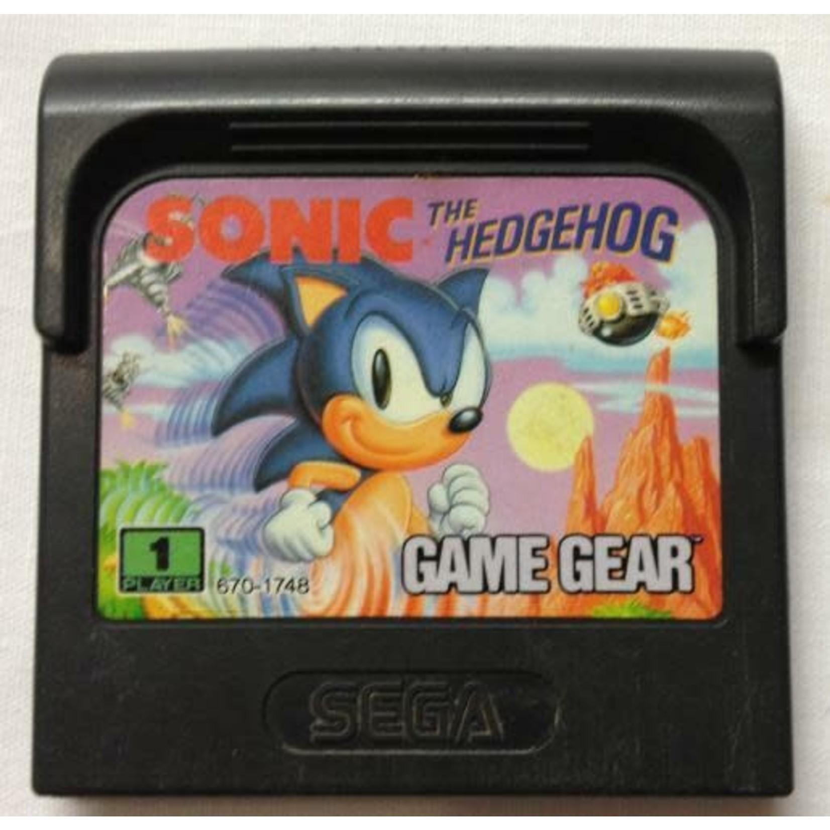 GGU-Sonic The Hedgehog (CARTRIDGE)