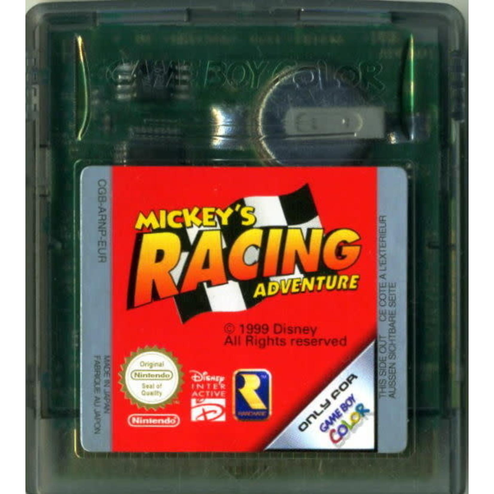 gbcu-Mickey's Racing Adventure (cart)