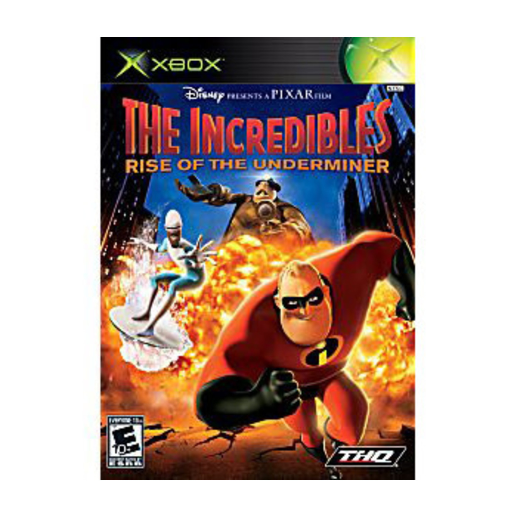 XBU-The Incredibles Rise of The Underminer