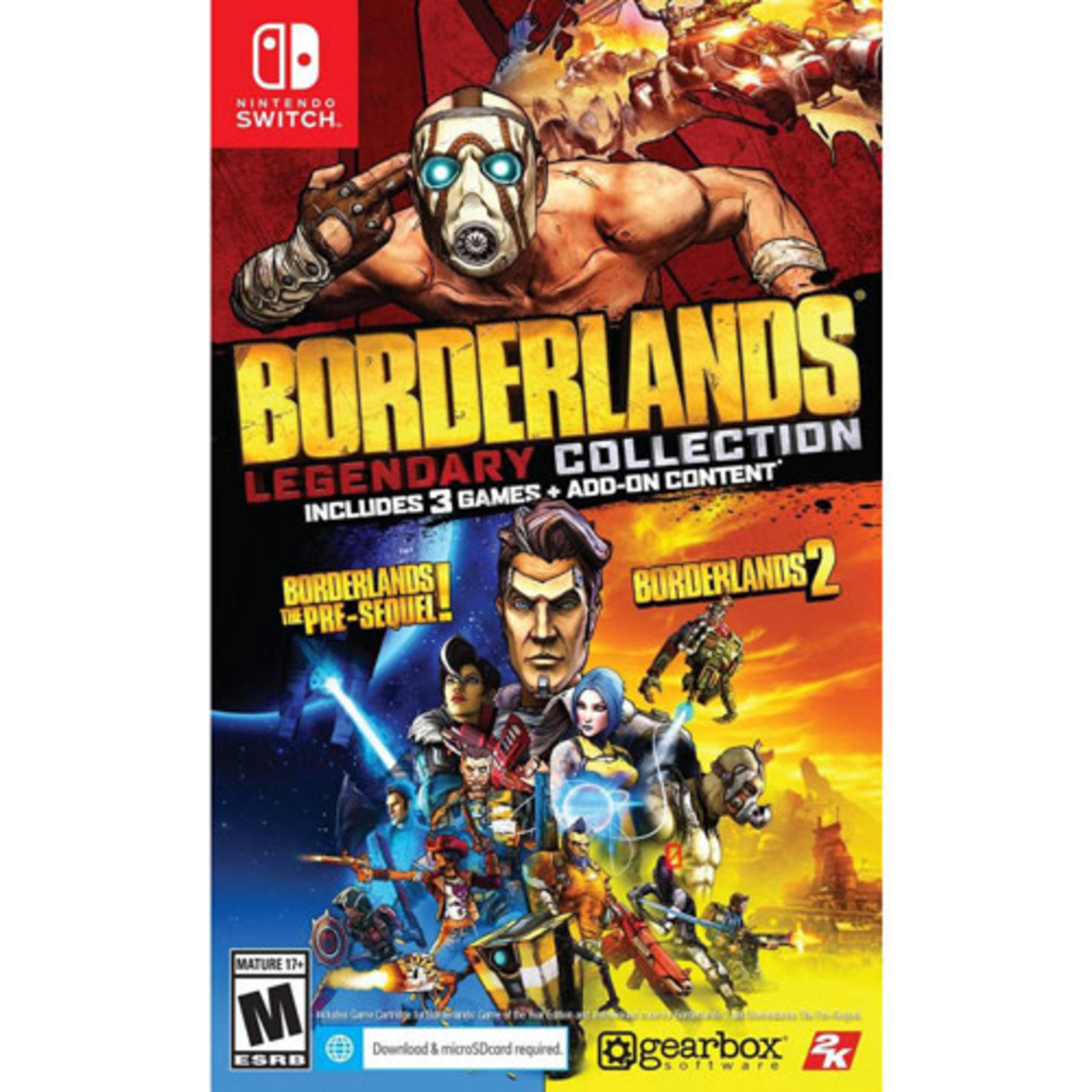 switch-Borderlands Legendary Collection