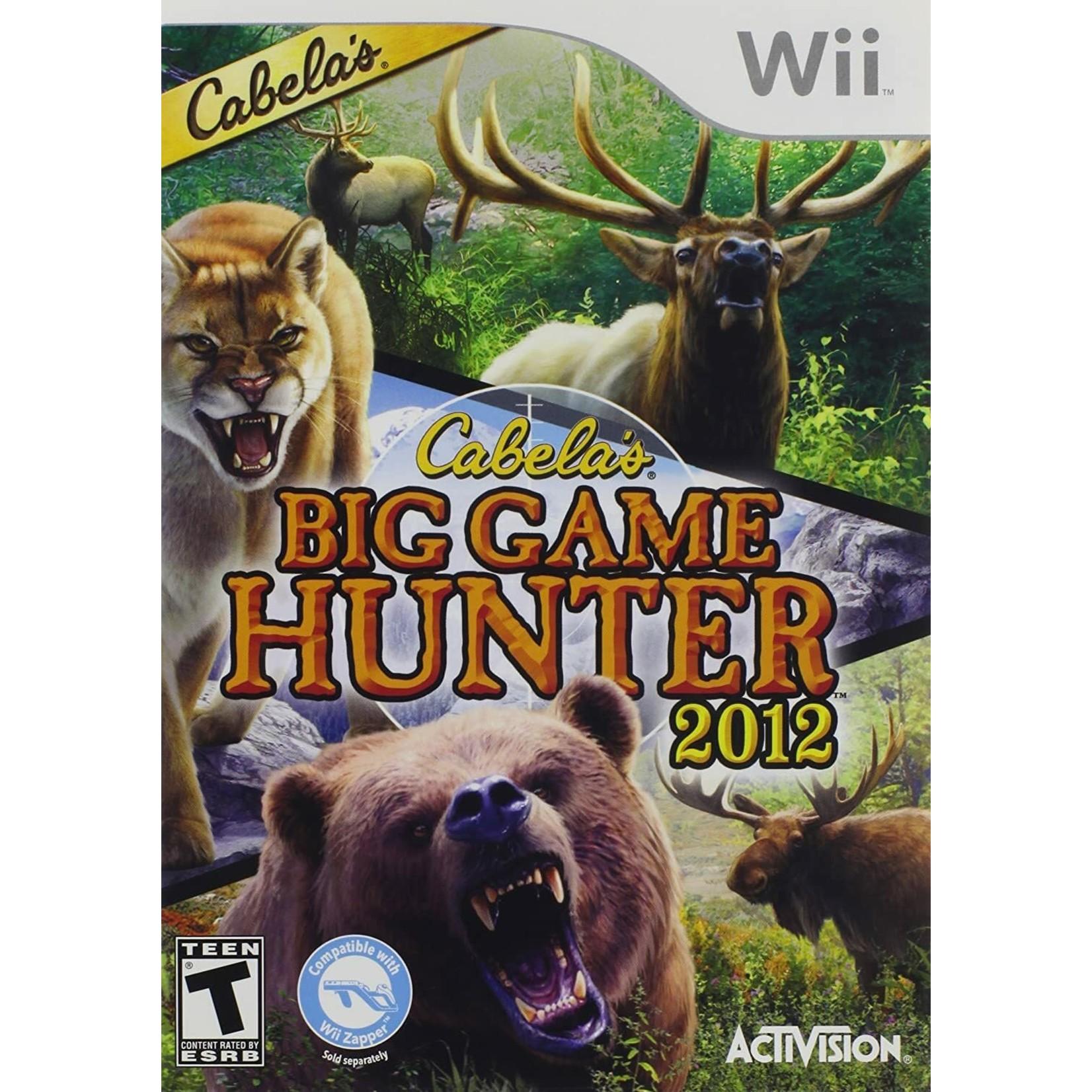 WII-Cabela's Big Game Hunter 2012