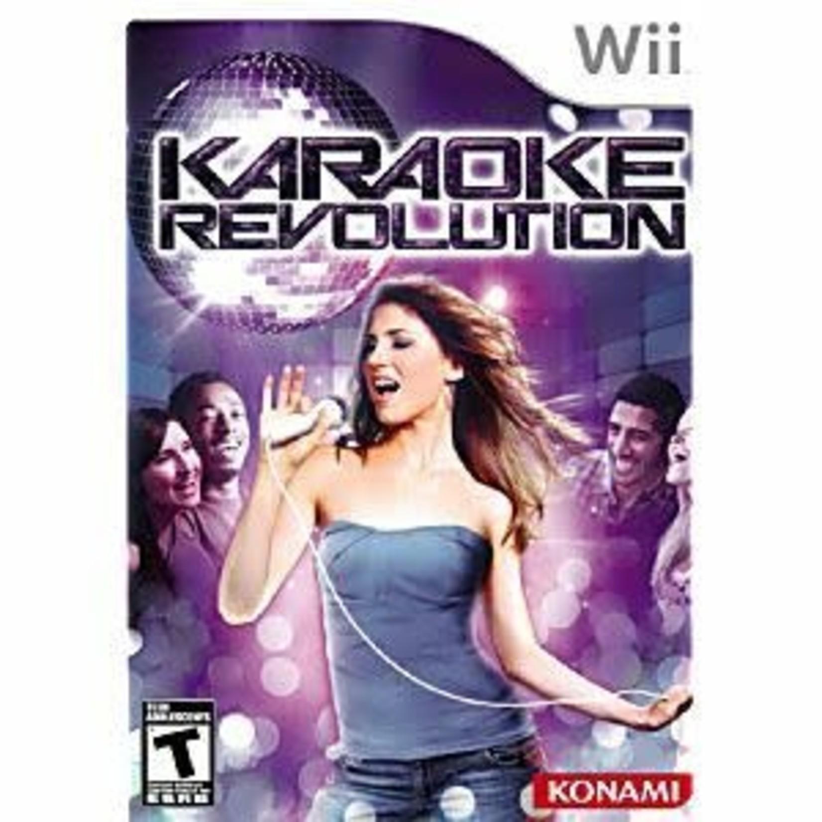 wiiusd-Karaoke Revolution