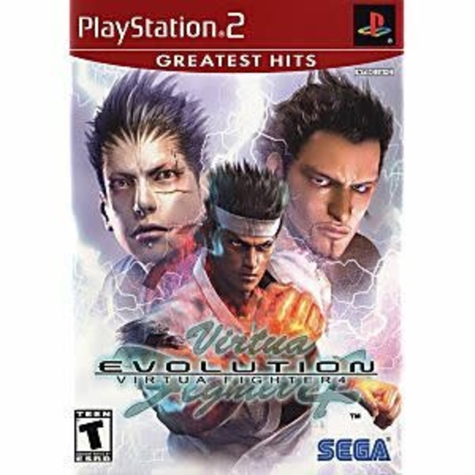 PS2U-VIRTUA FIGHTER 4 EVOLUTION