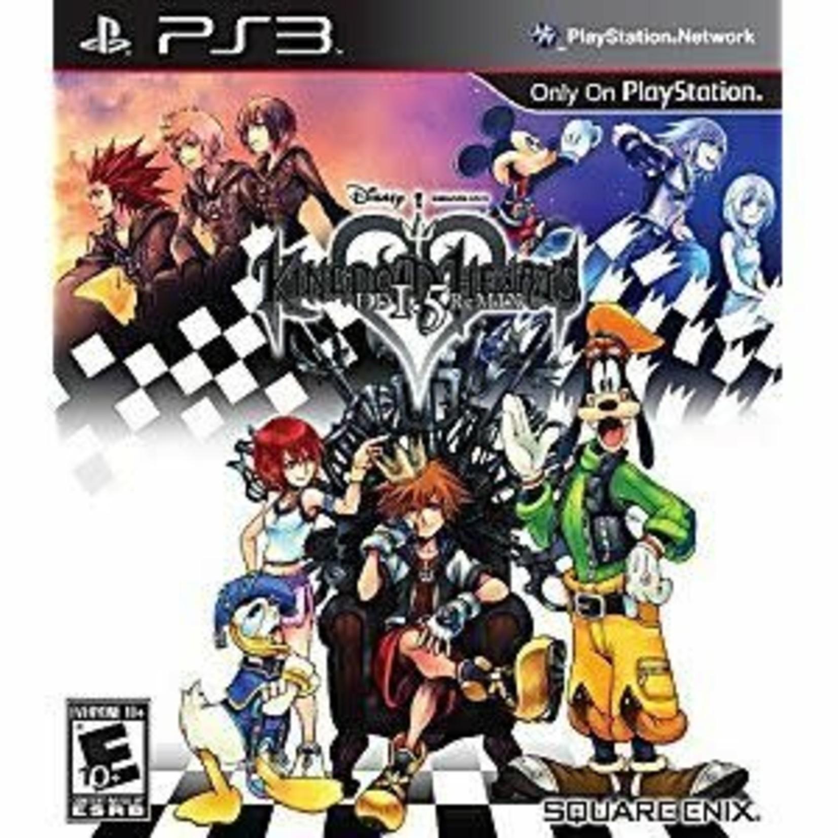 PS3-KINGDOM HEARTS HD 1.5 ReMIX