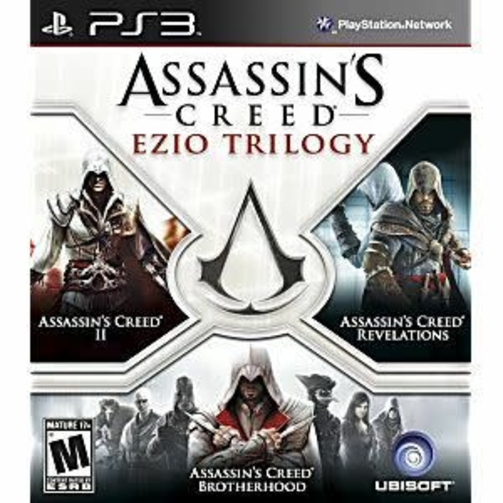 PS3U-Assassin's Creed Ezio Trilogy