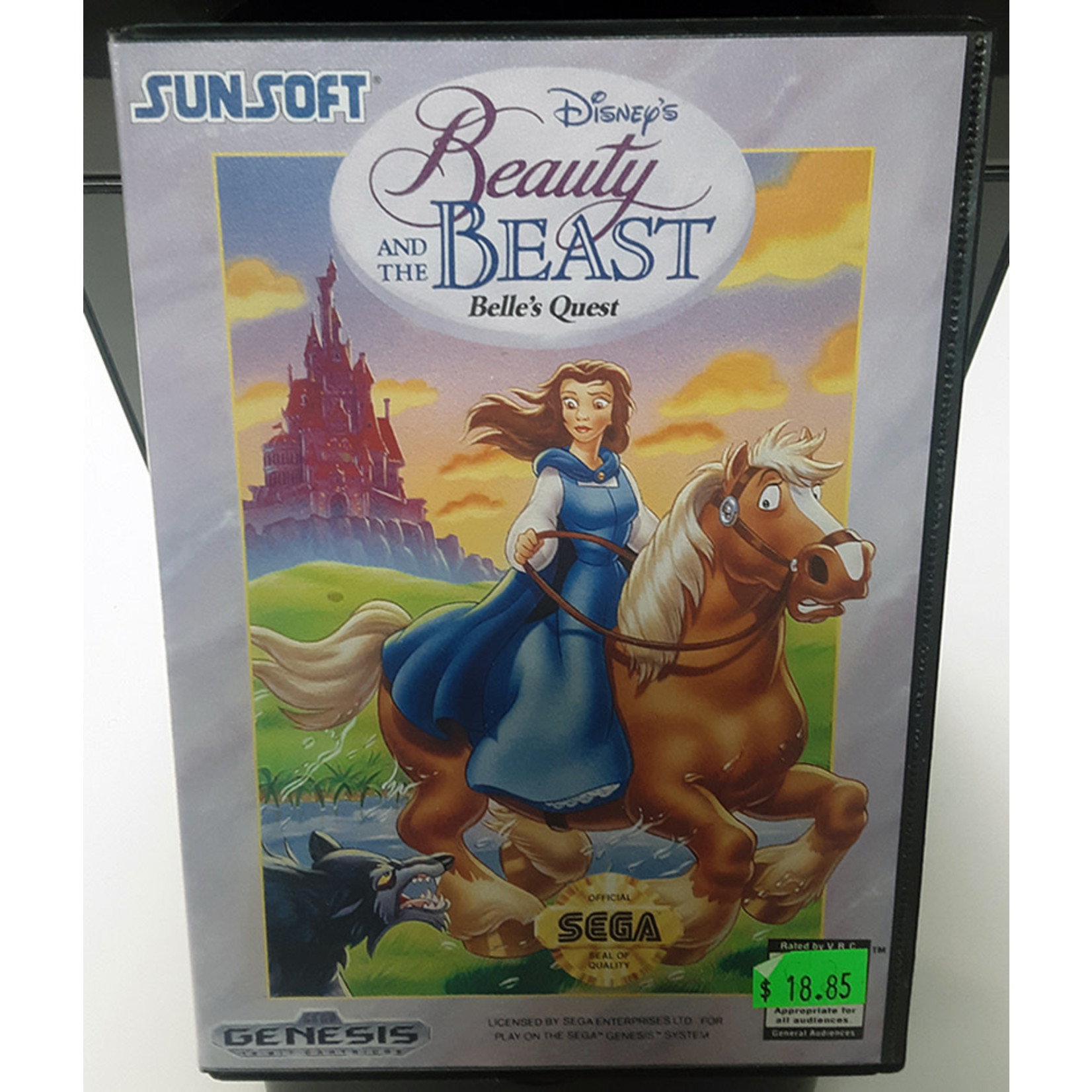 sgu-Beauty And The Beast Belle's Quest (in box)