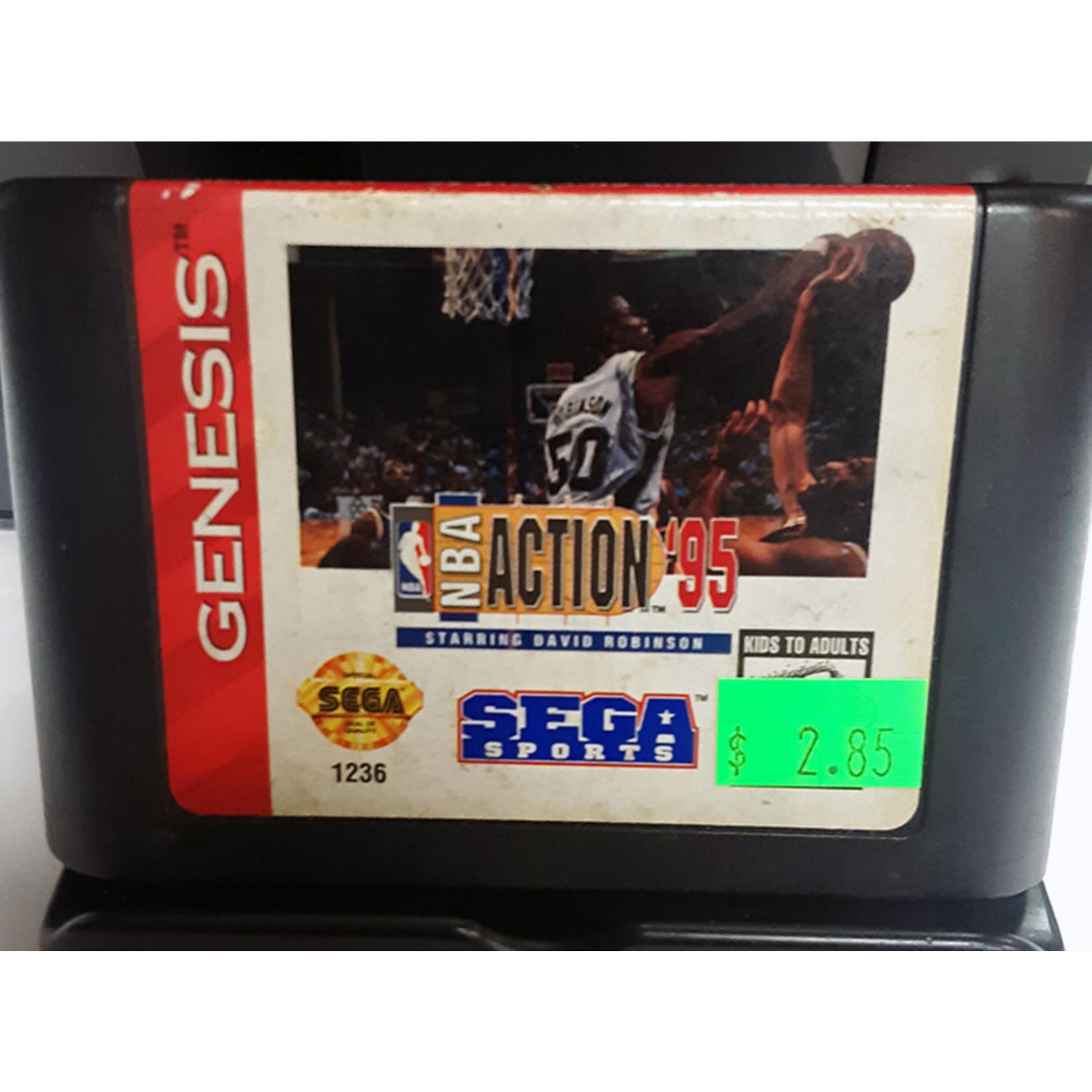 SGU-NBA Action '95 starring David Robinson (cartridge)