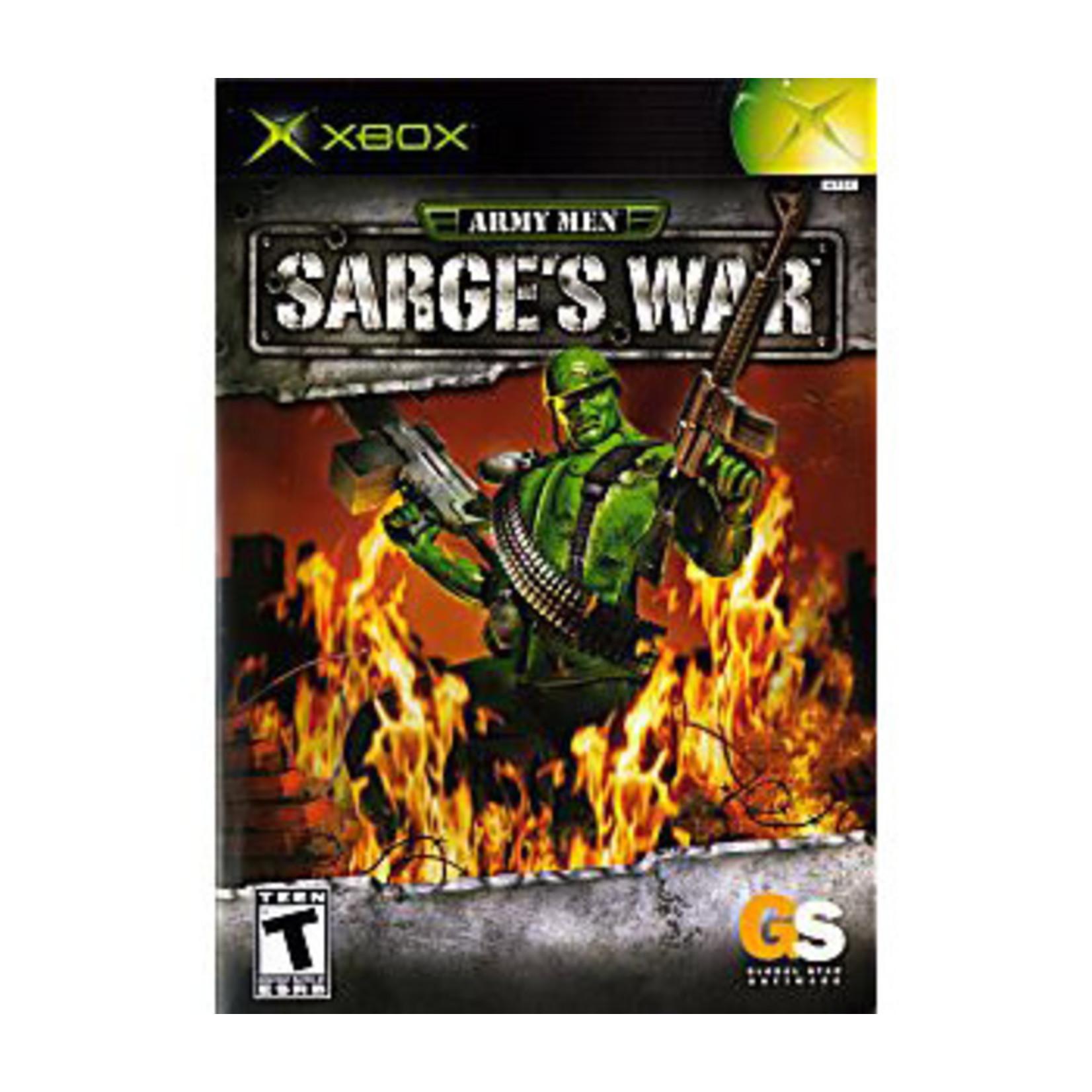 XBU-ARMY MEN SARGES WAR