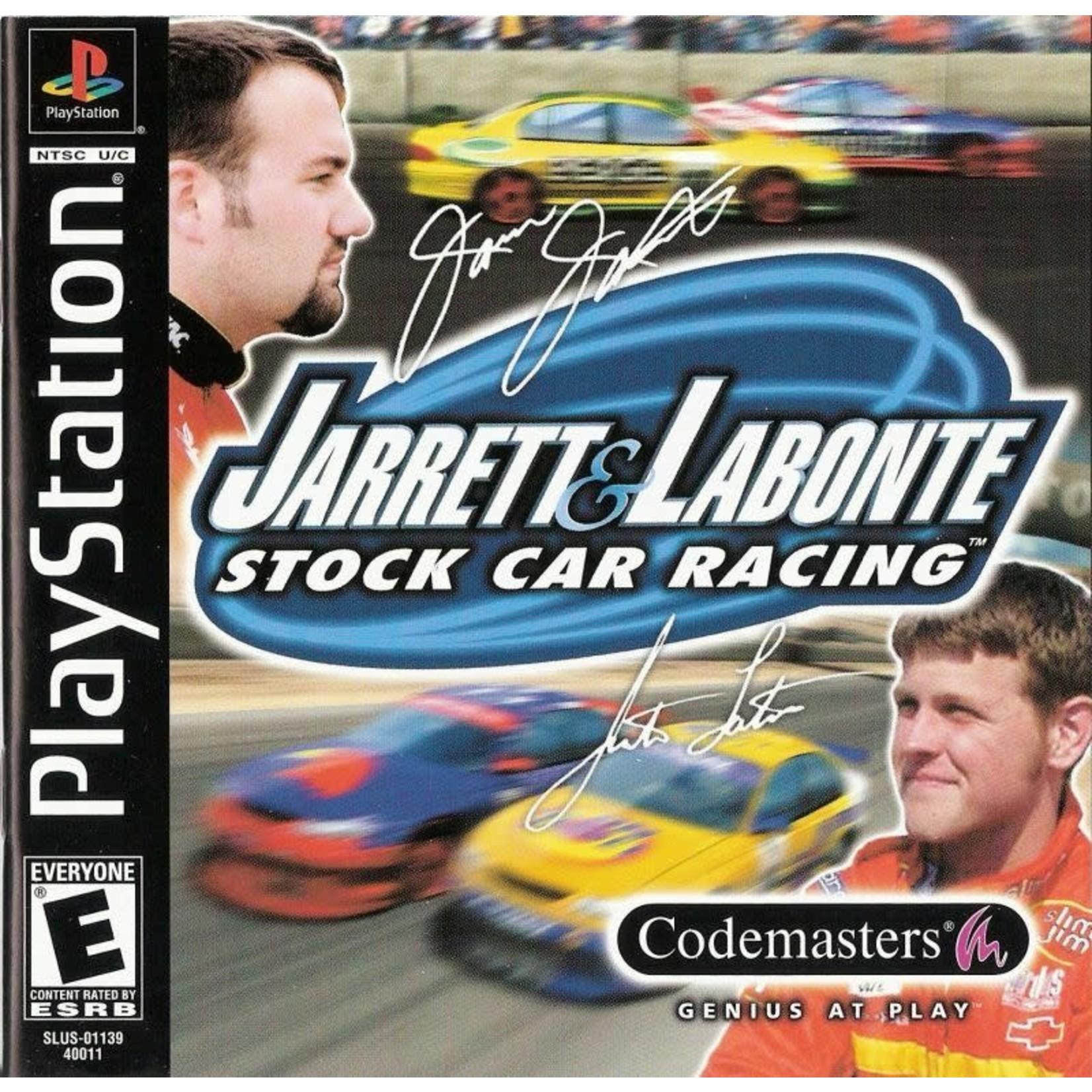 PS1U-Jarret And Labonte Stock Car Racing