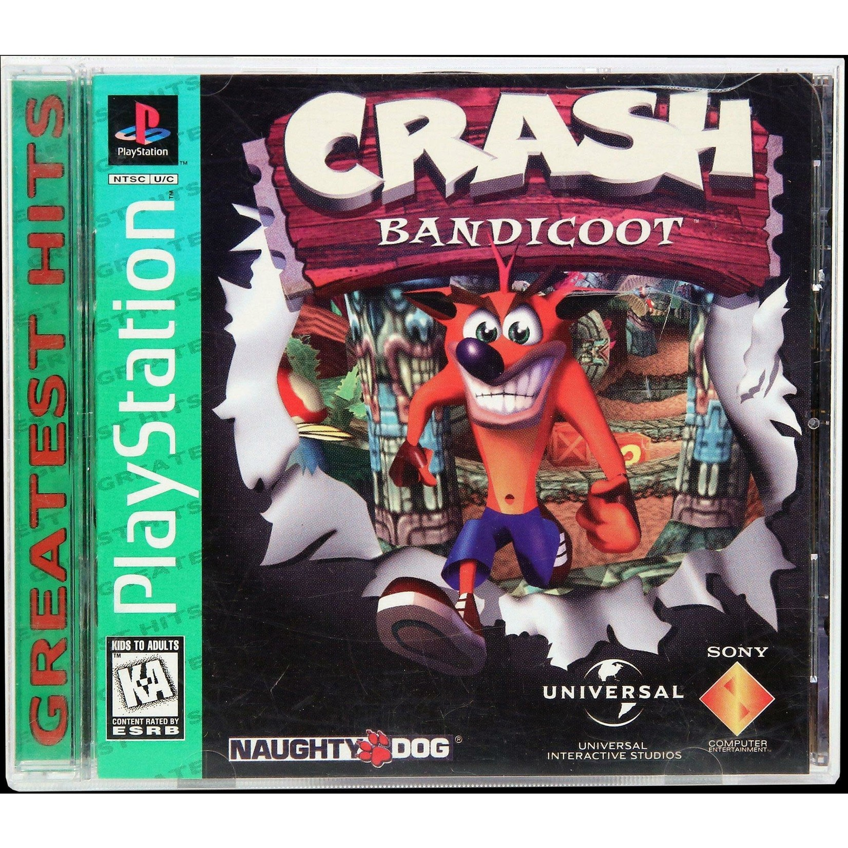 PS1U-Crash Bandicoot