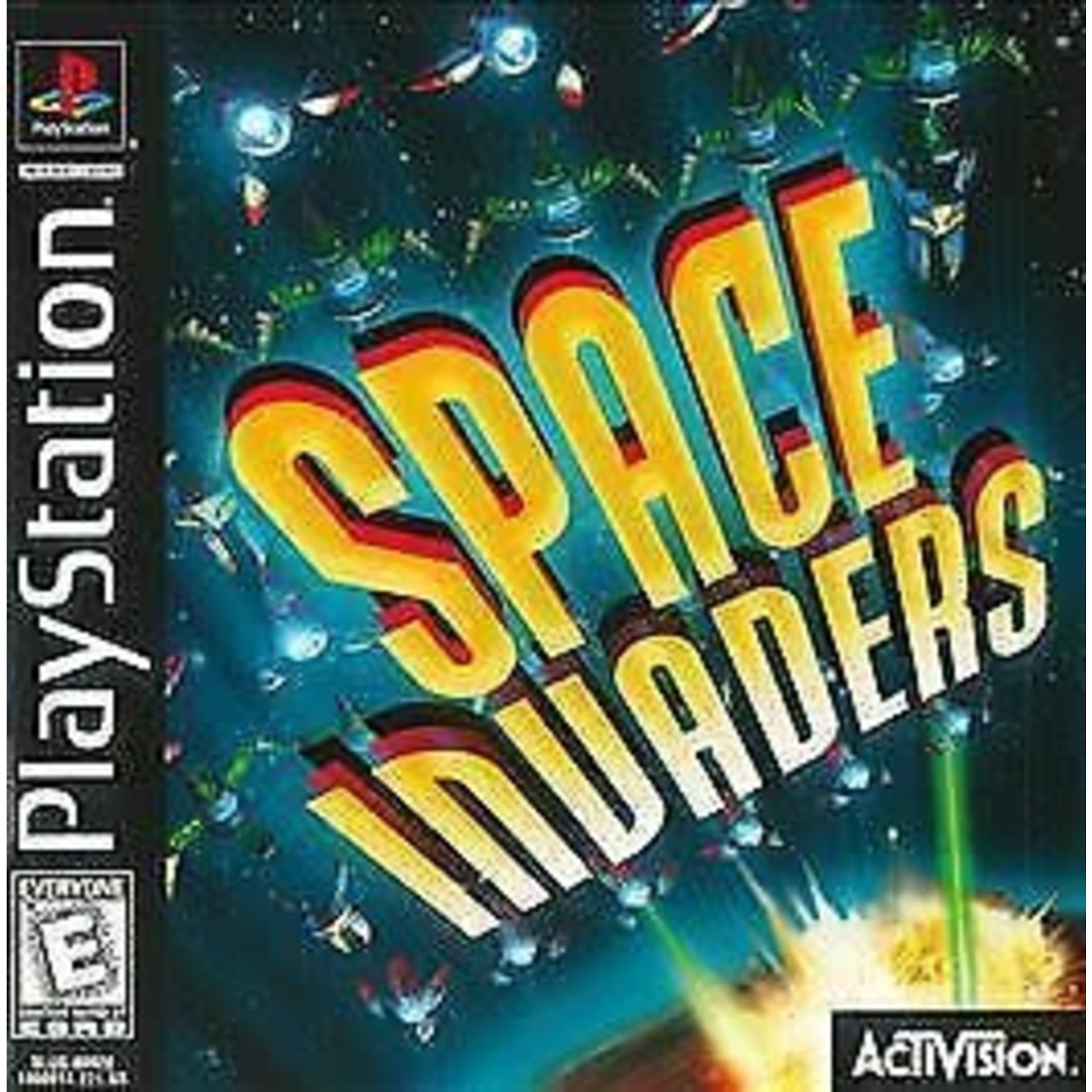 ps1u-Space Invaders (complete)