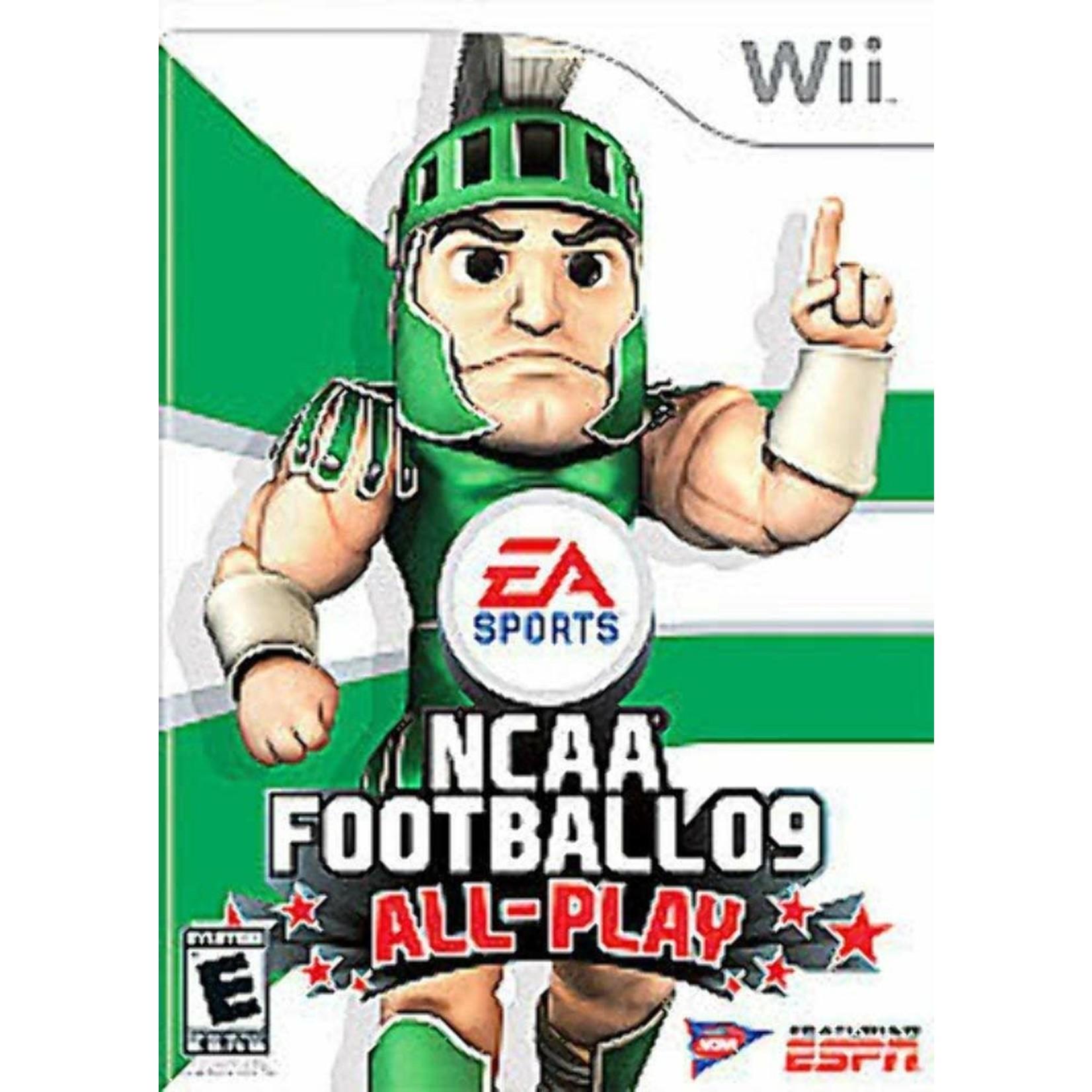 wiiusd-NCAA Football 09 All-Play