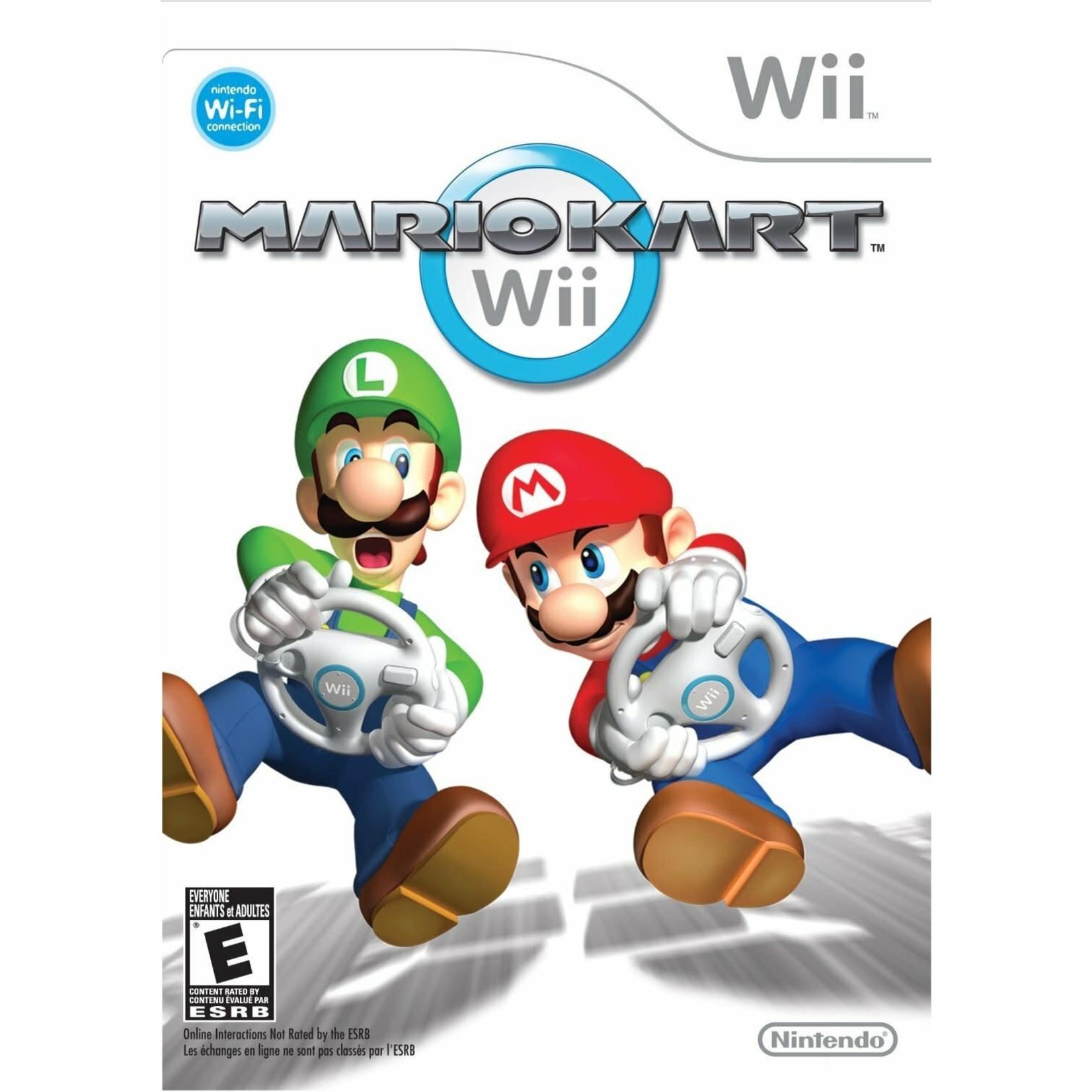 WIIUSD-Mario Kart w/wheel