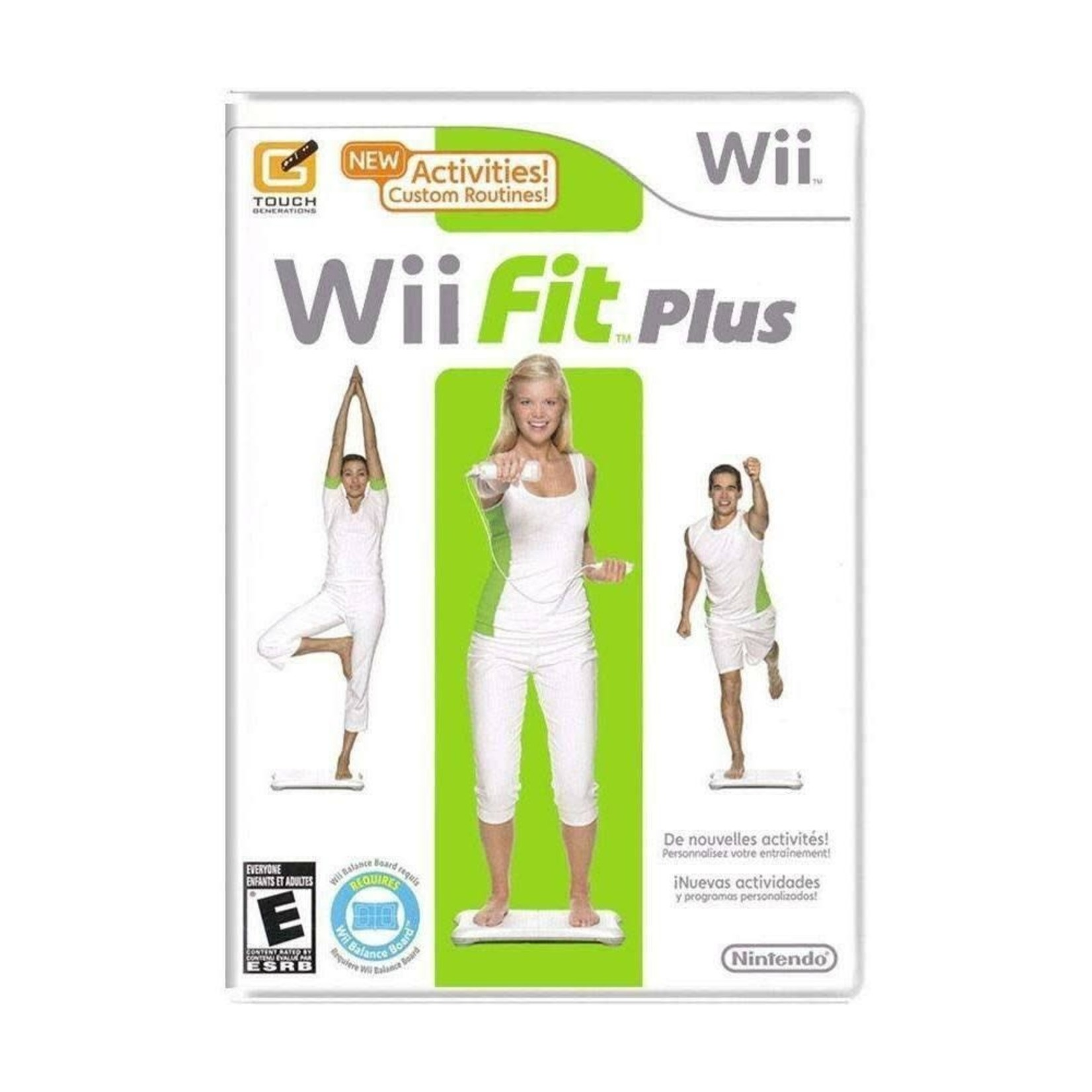 WIIUSD-Wii Fit Plus