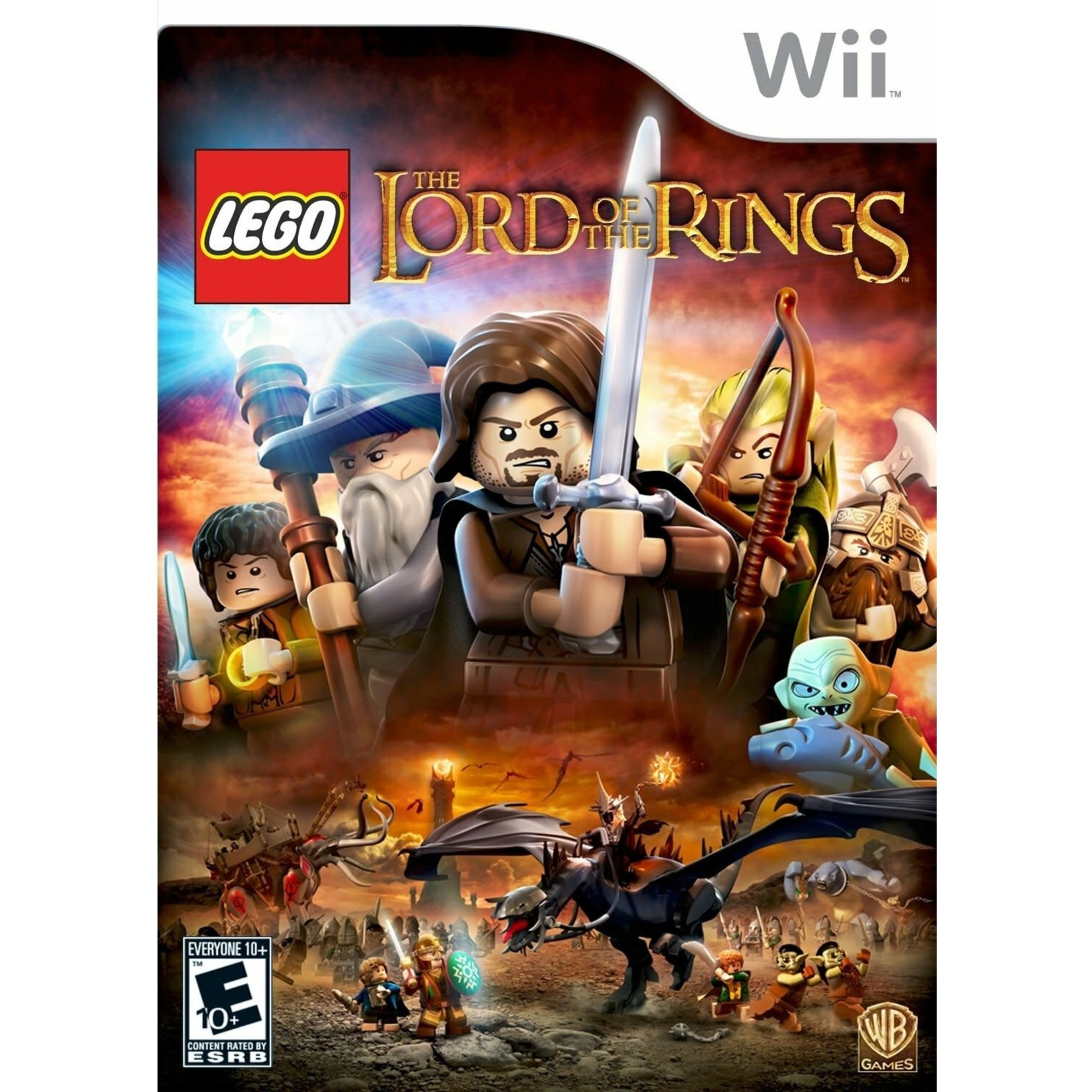WII-LEGO Lord of the Rings