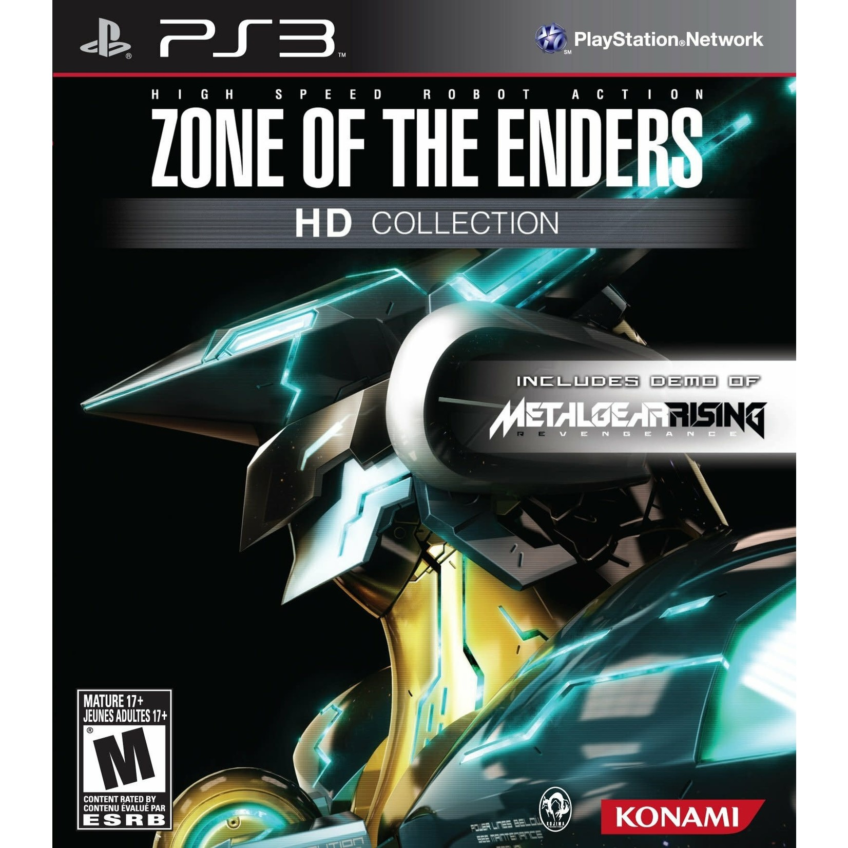 PS3-Zone of the enders HD collection