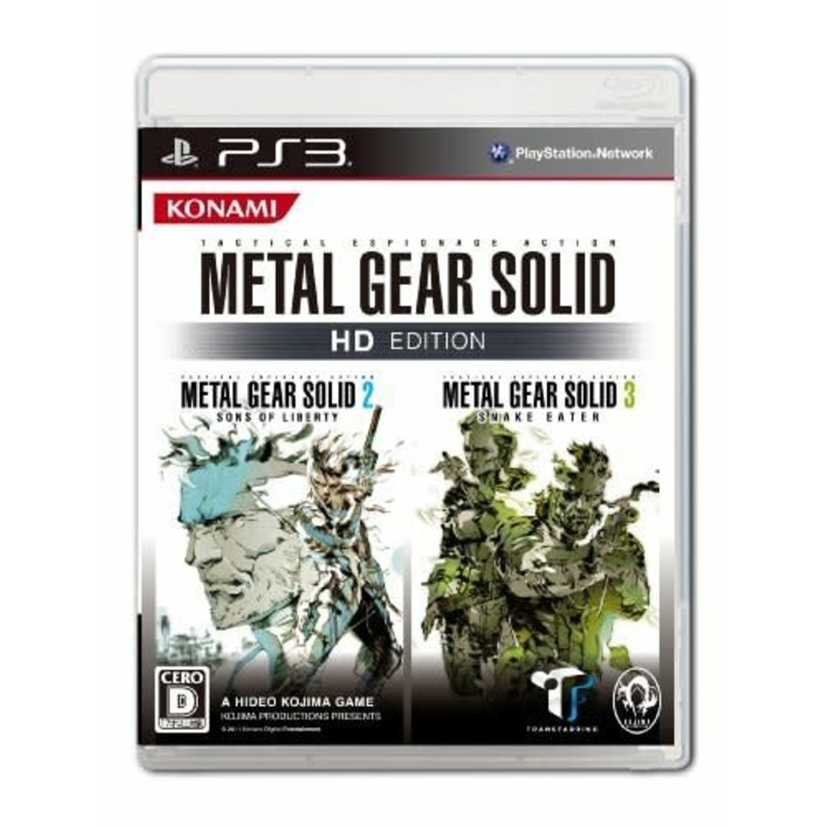 IMPORT-PS3U-Metal Gear Solid HD Collection
