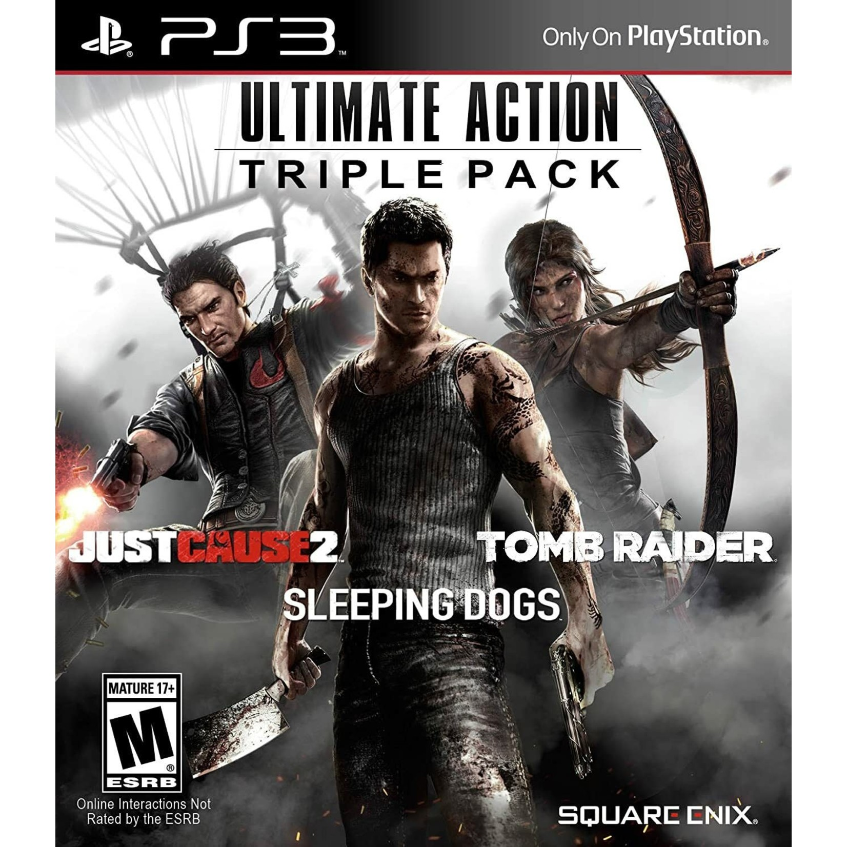 PS3U-Ultimate Action Triple Pack