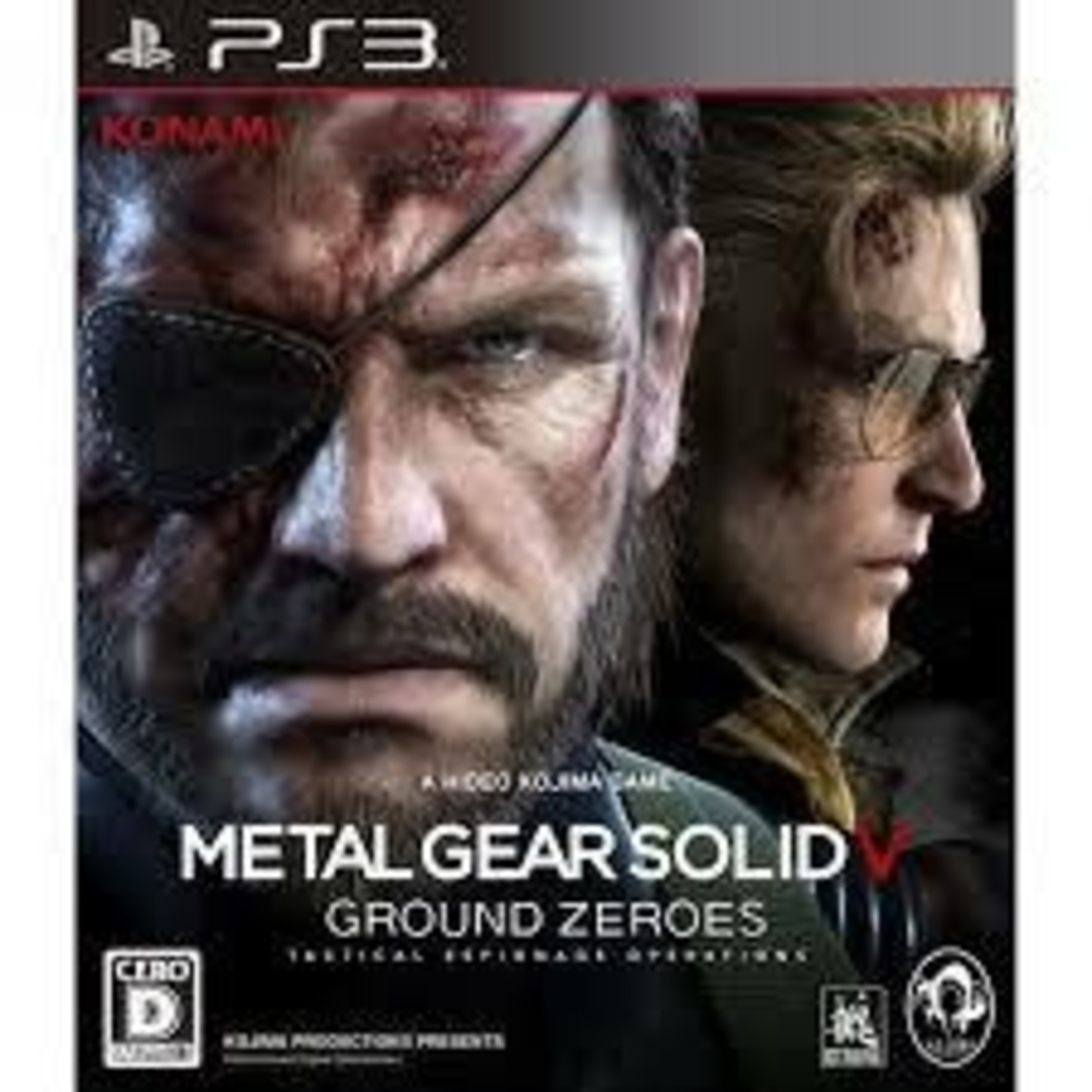 IMPORT-PS3U-Metal Gear Solid V: Ground Zeroes