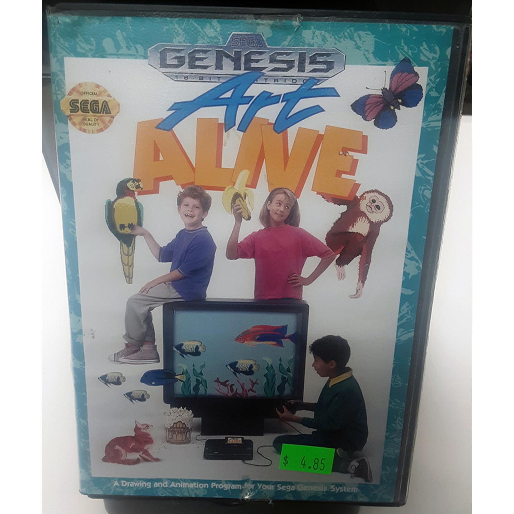 SGU-Art Alive (boxed)