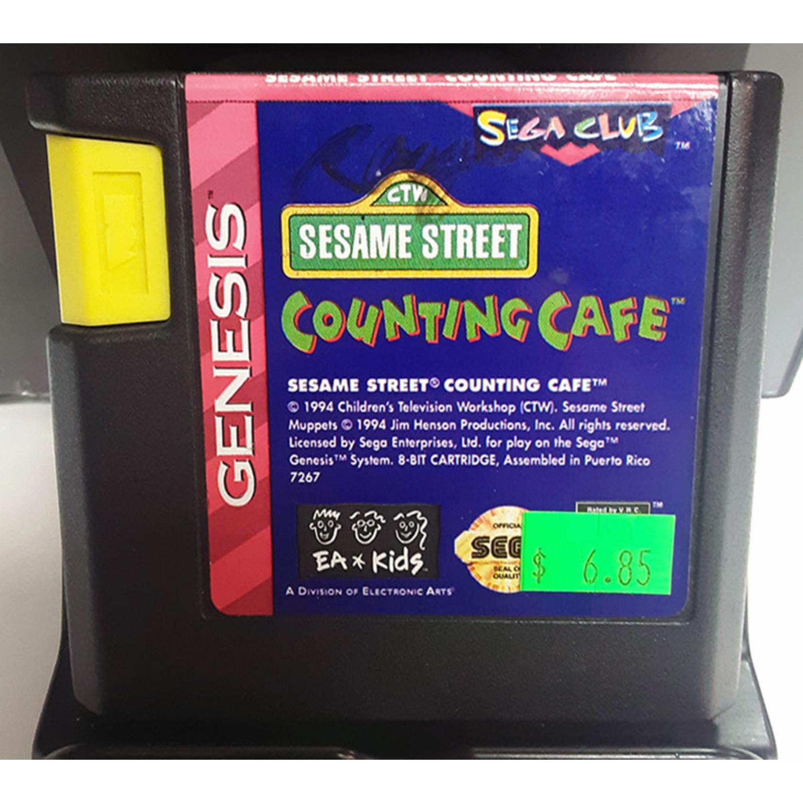 sgu-sesame street counting cafe (cartridge)