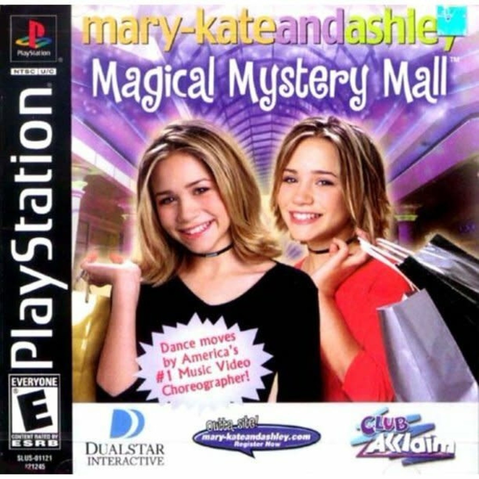 ps1u-Mary-Kate And Ashley Magical Mystery Mall