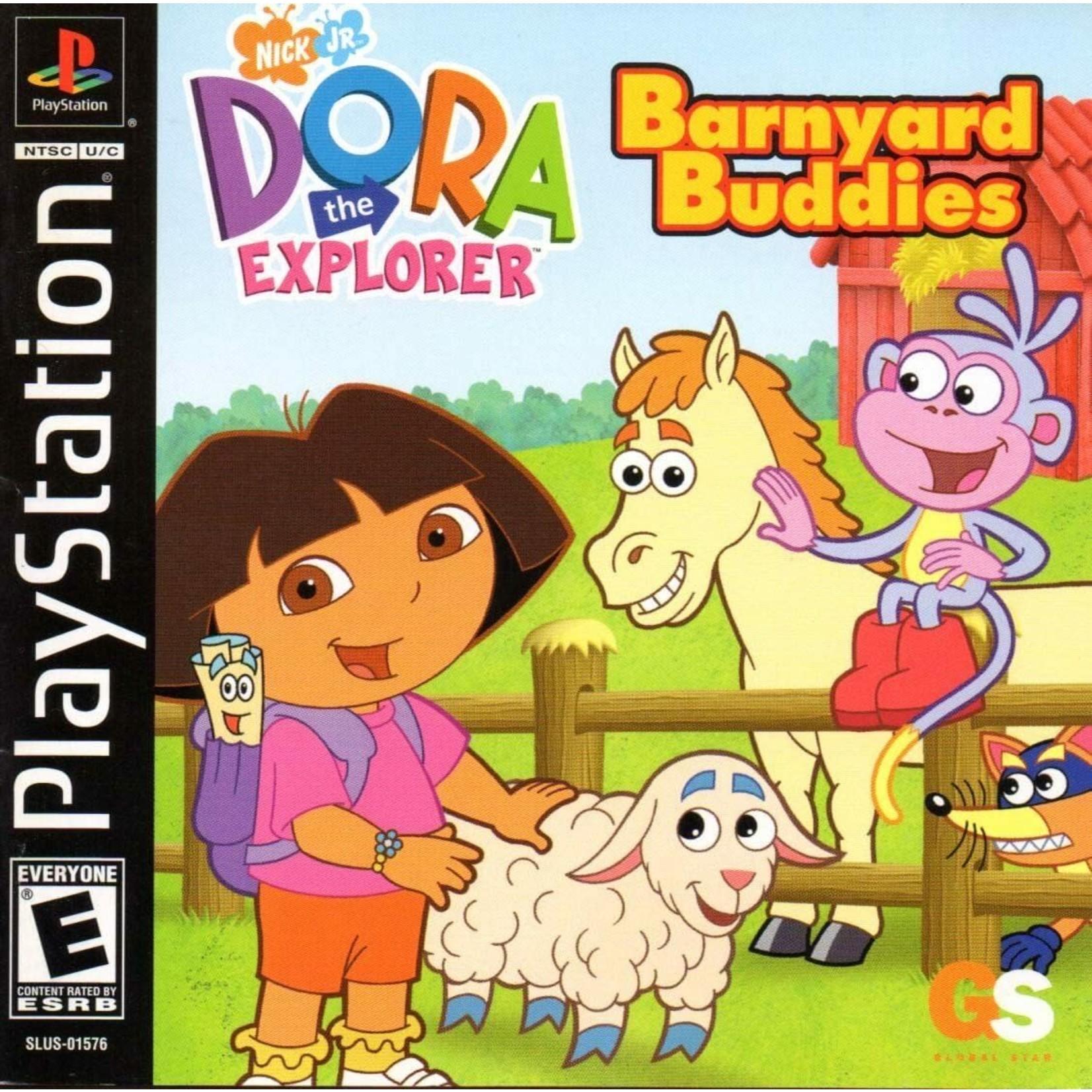 PS1U-Dora The Explorer:Barnyard Buddies