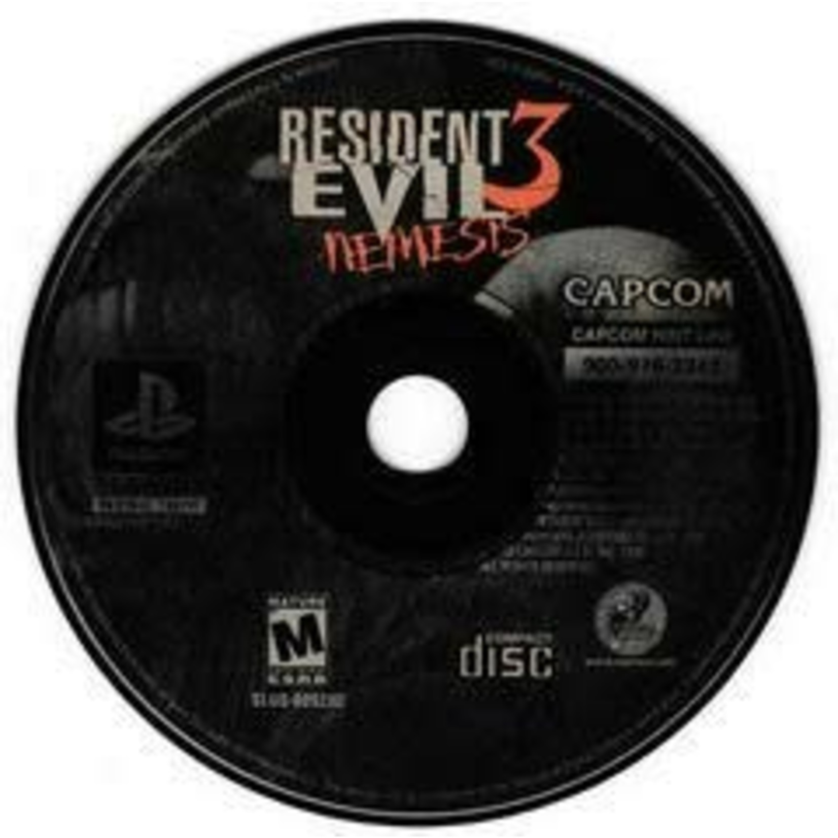 PS1U-Resident Evil 3 (Disc & Manual Only)