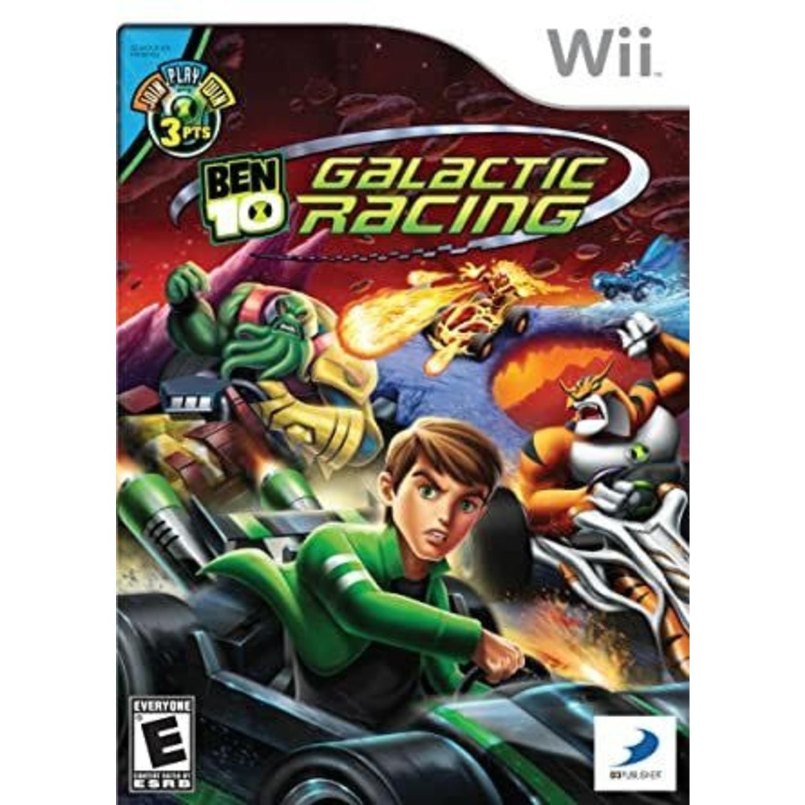 WII-Ben 10: Galactic Racing