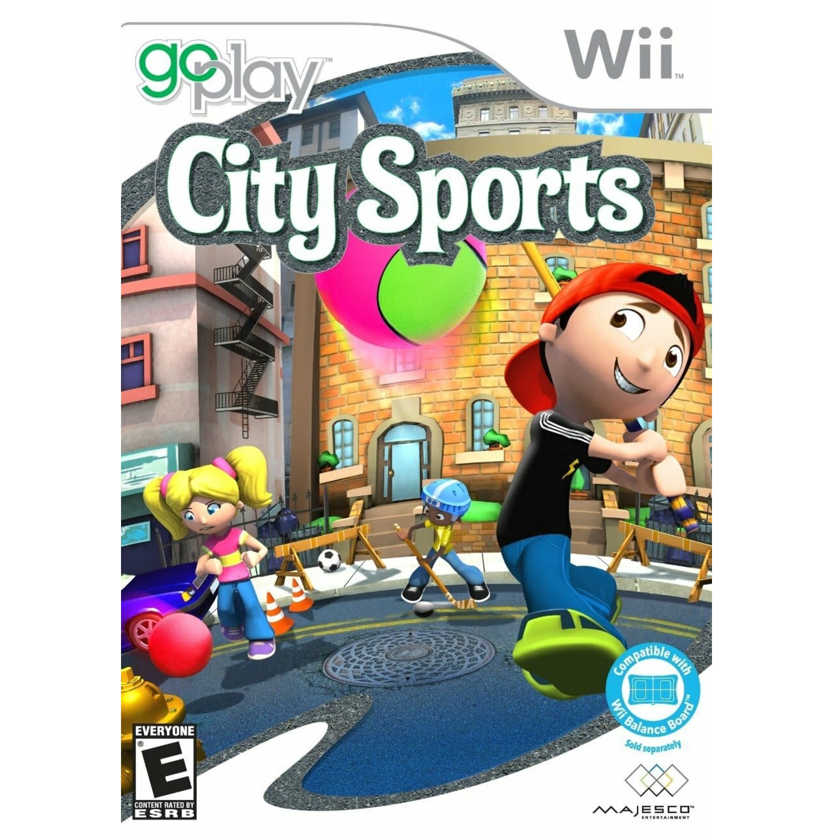 WIIUSD-Go Play City Sports