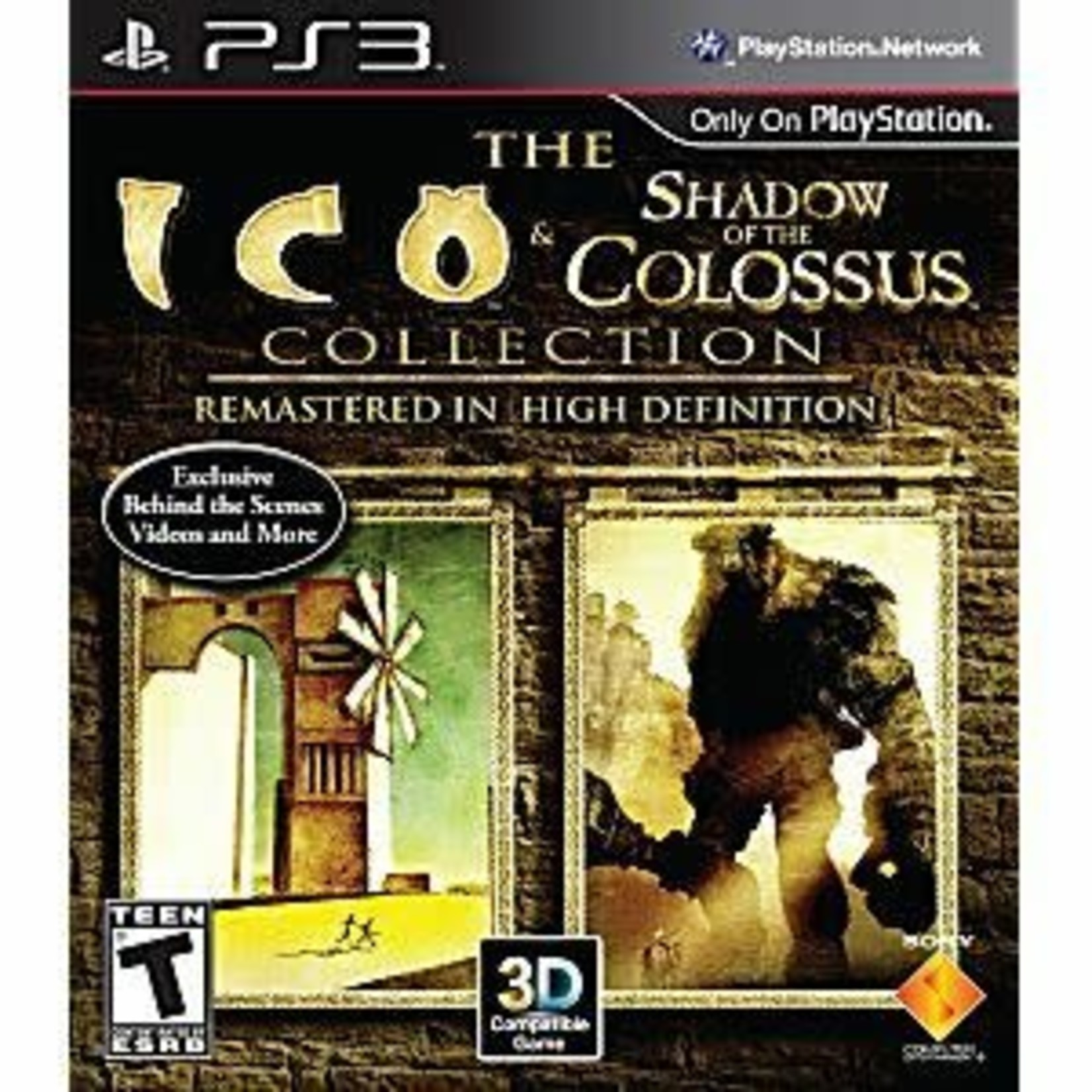 PS3-Ico and Shadow of the Colossus Collection