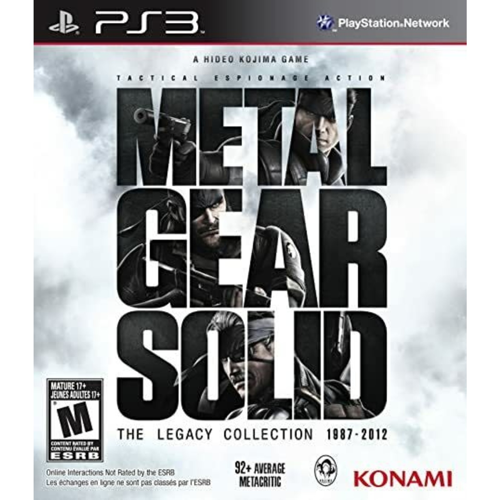 PS3-Metal Gear Solid: The Legacy Collection
