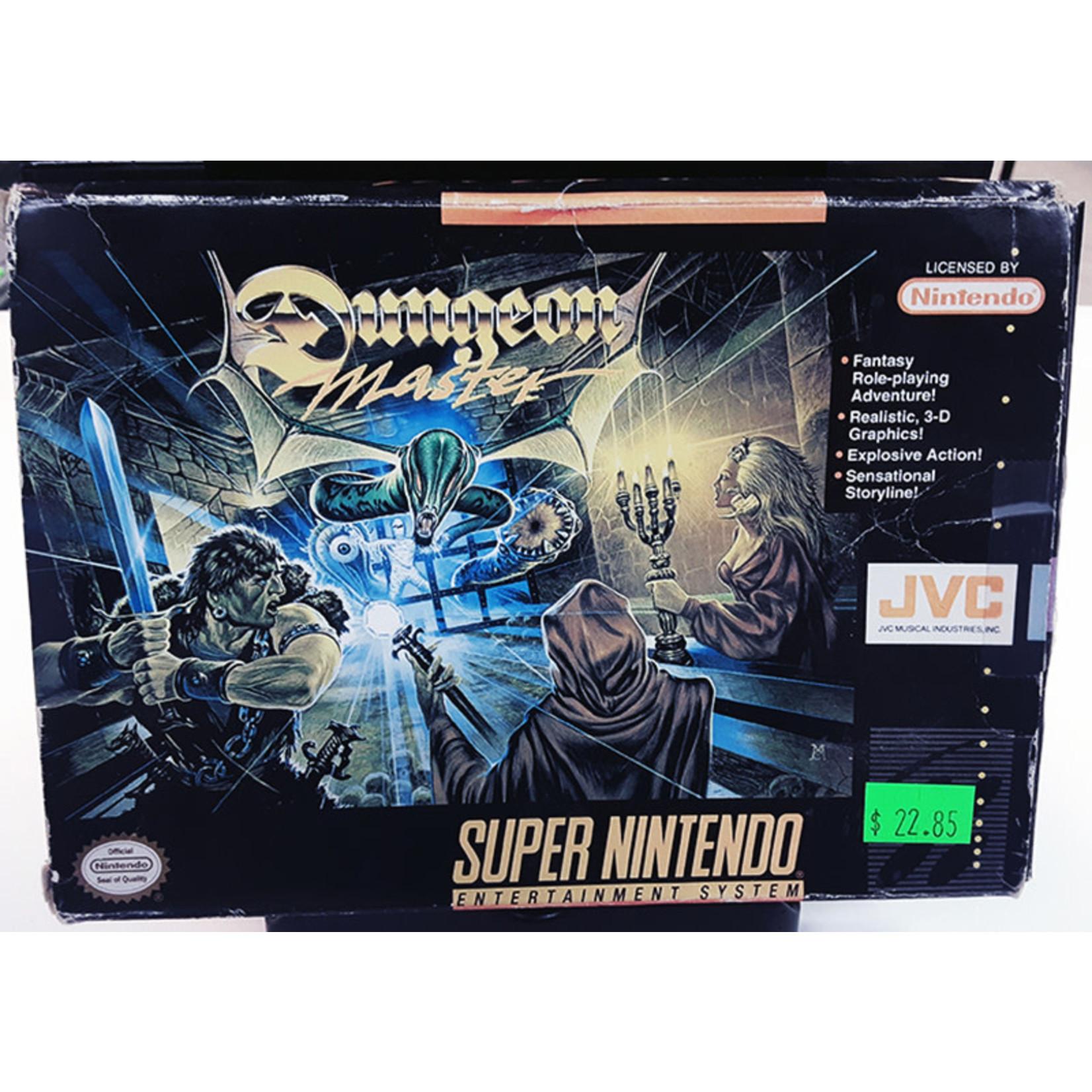 snesu-Dungeon Master (in box, incomplete)