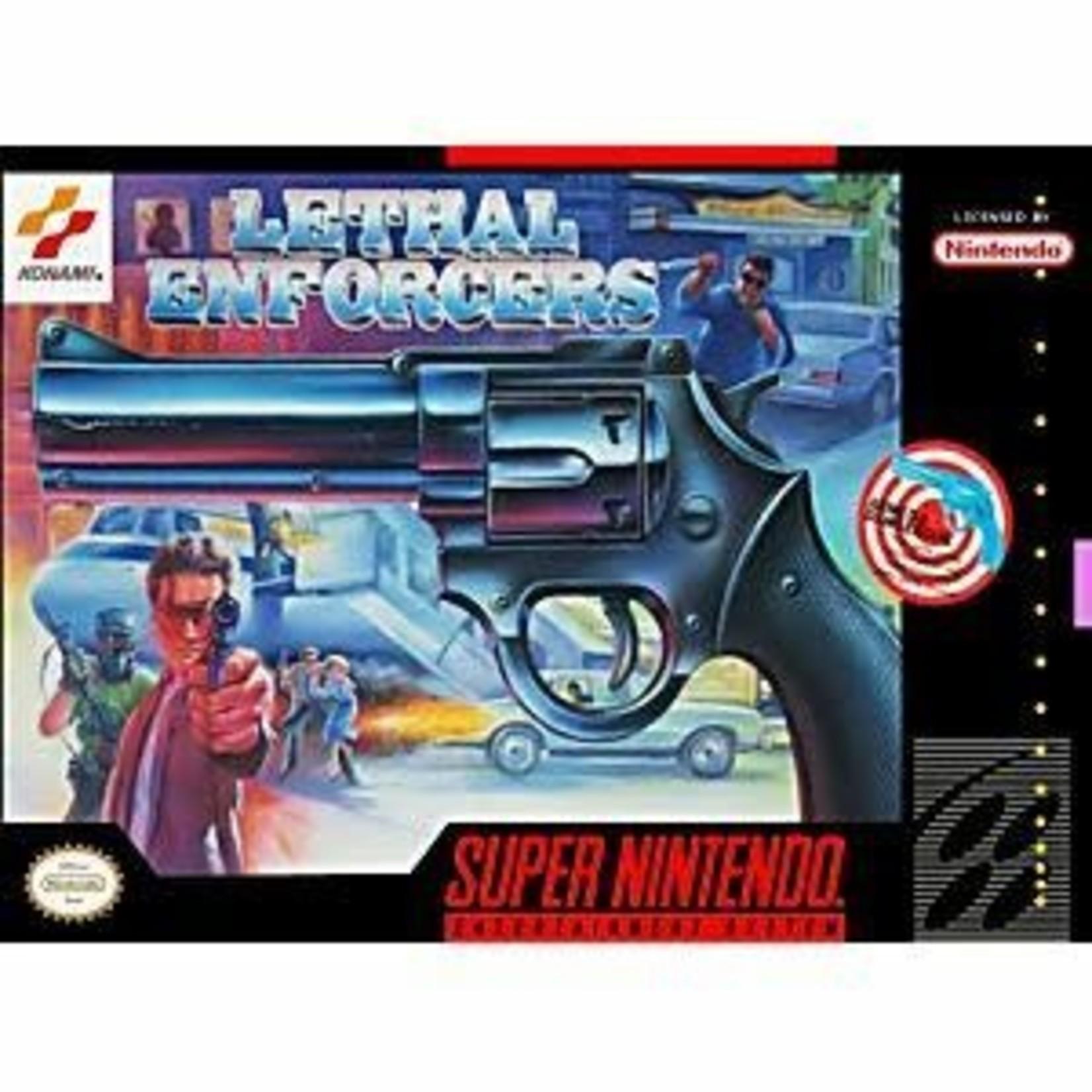 snesu-Lethal Enforcers (cartridge)