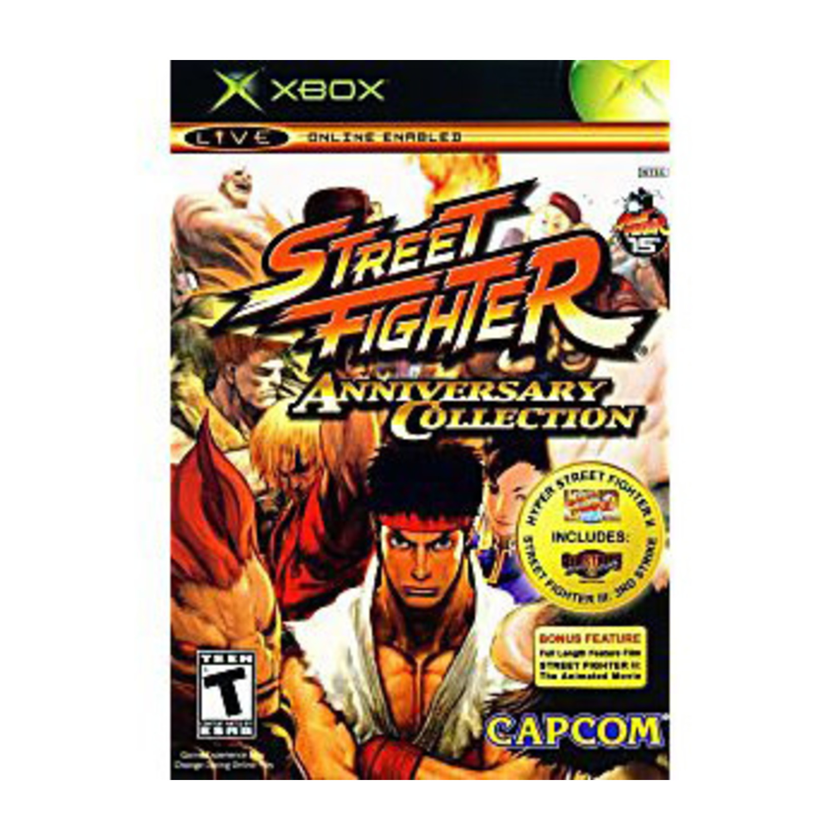 XBU-Street Fighter Anniversary