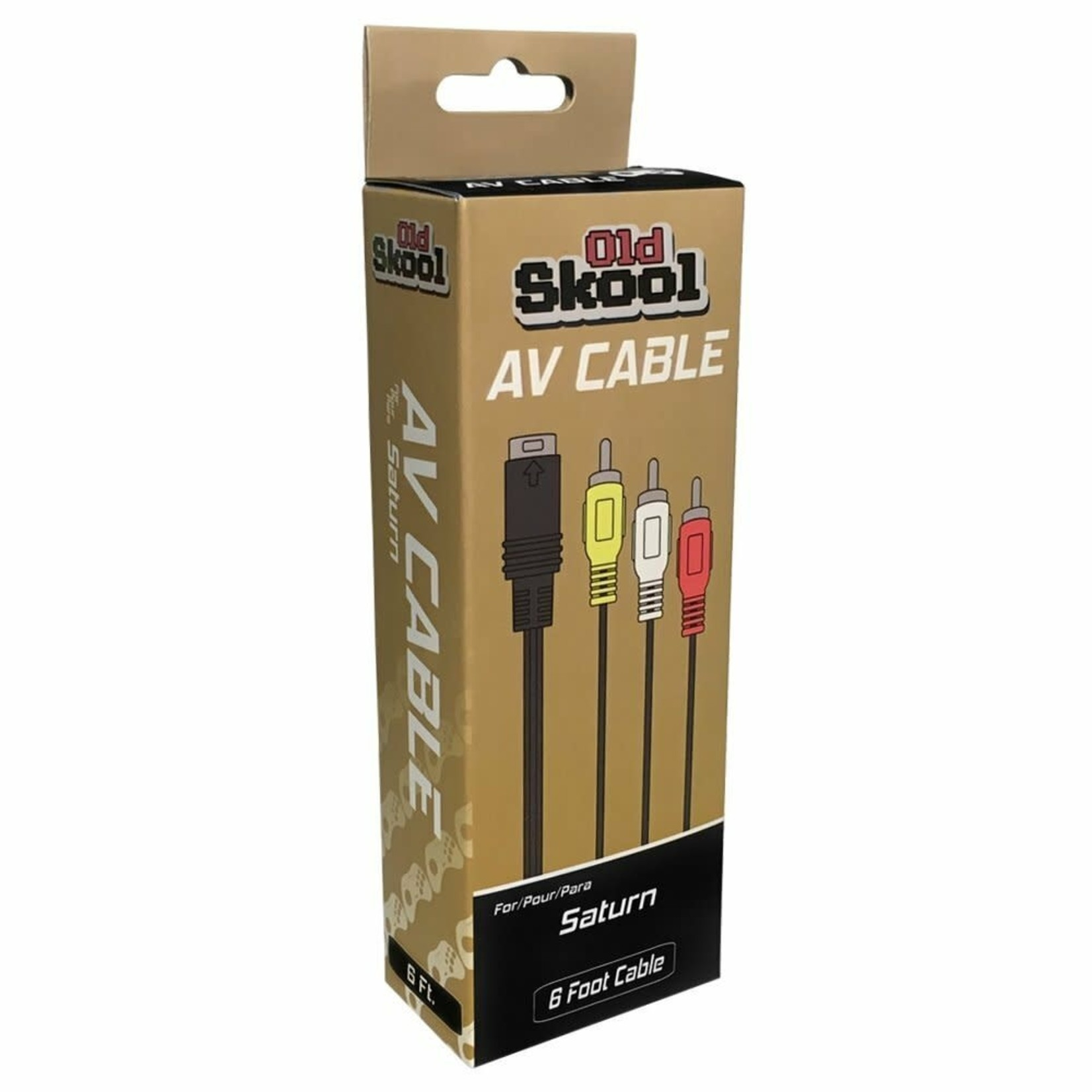 Old Skool AV cable for Sega Saturn