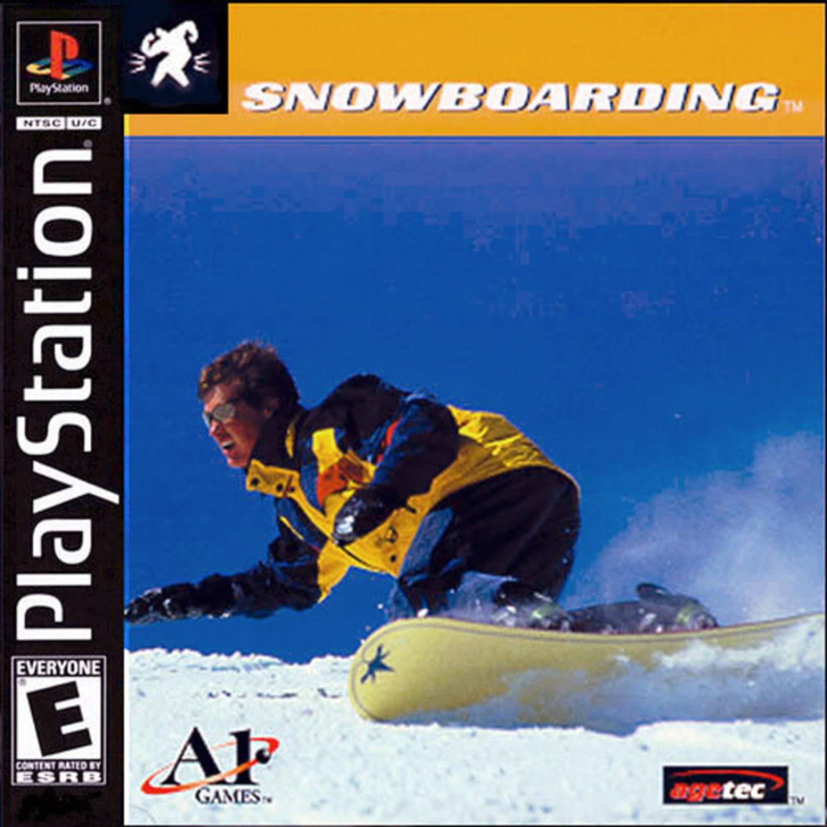 ps1u-Snowboarding