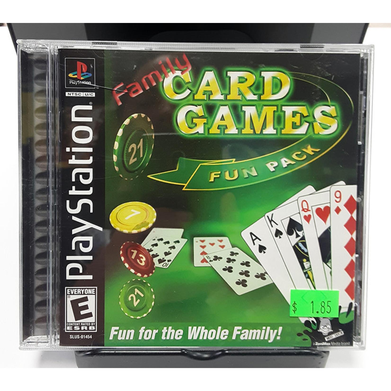 ps1u-Family Card Games Fun Pack