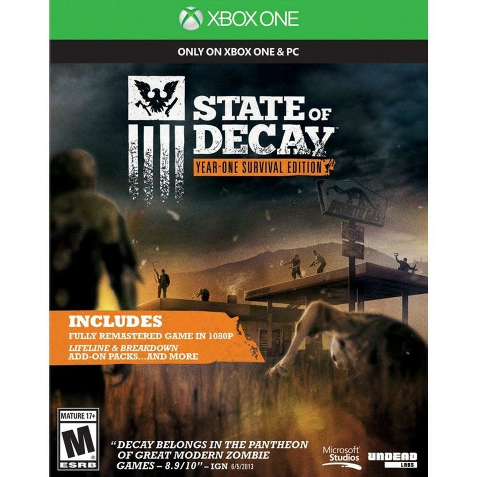 XB1-State of Decay Year One Survival Edition